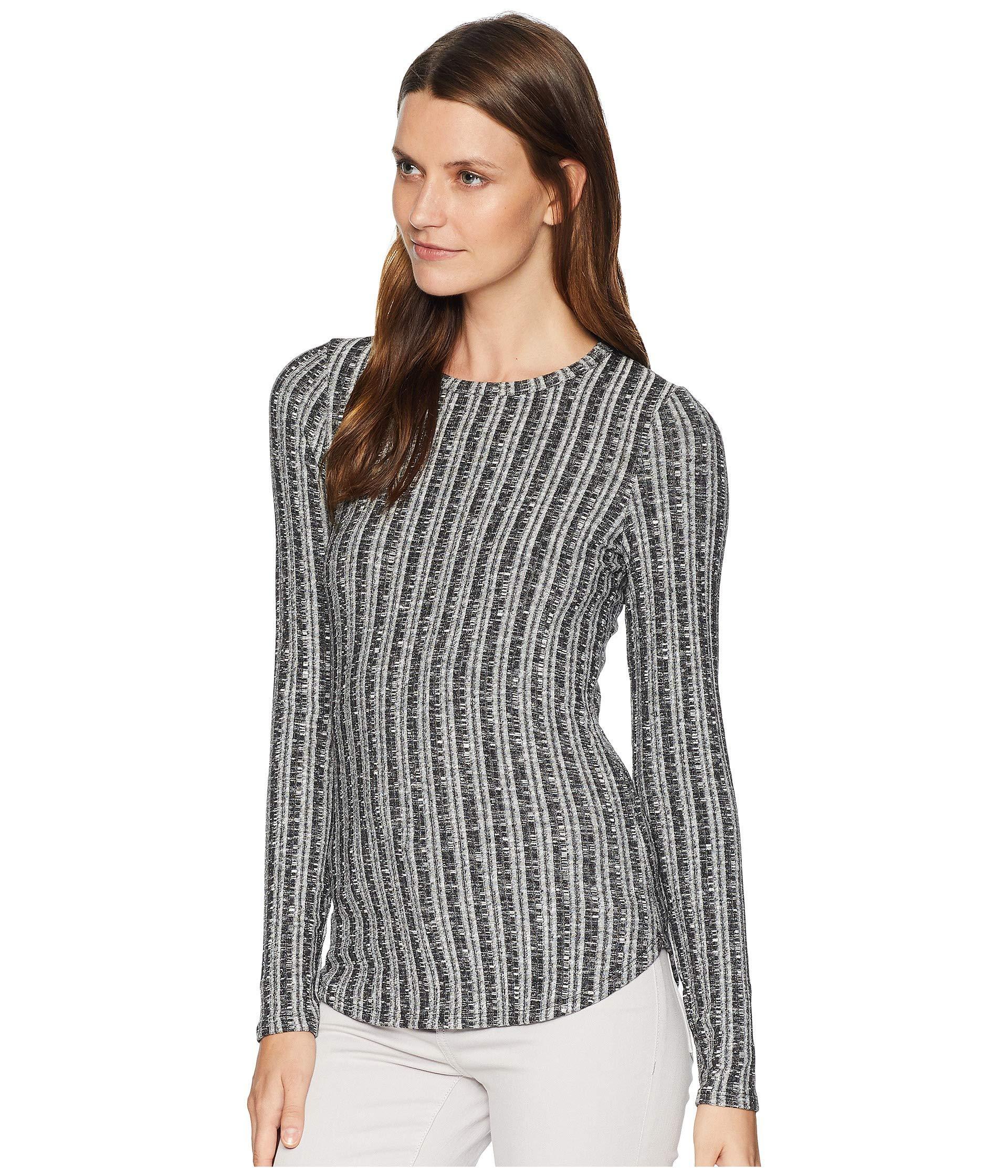 0d4fc58cbef3b Lyst - Three Dots Midtown Sweater Top in Black - Save 3%