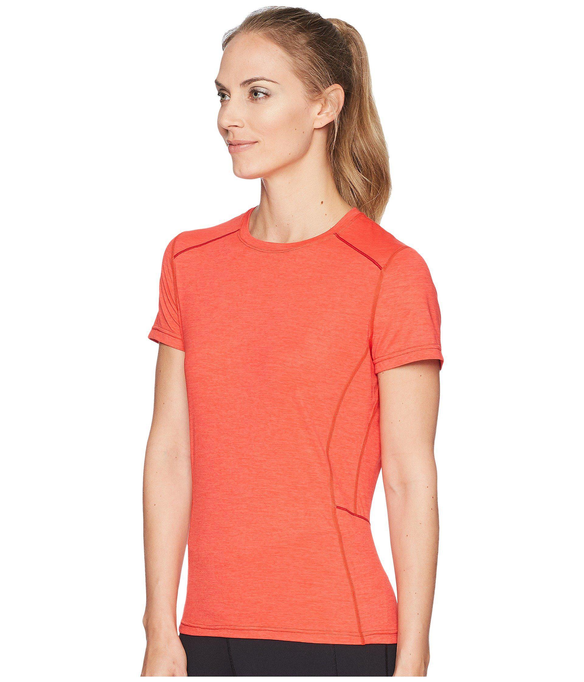 1aaddbb674786b Lyst - Prana Eileen Sun Top Short Sleeve in Pink - Save 43%