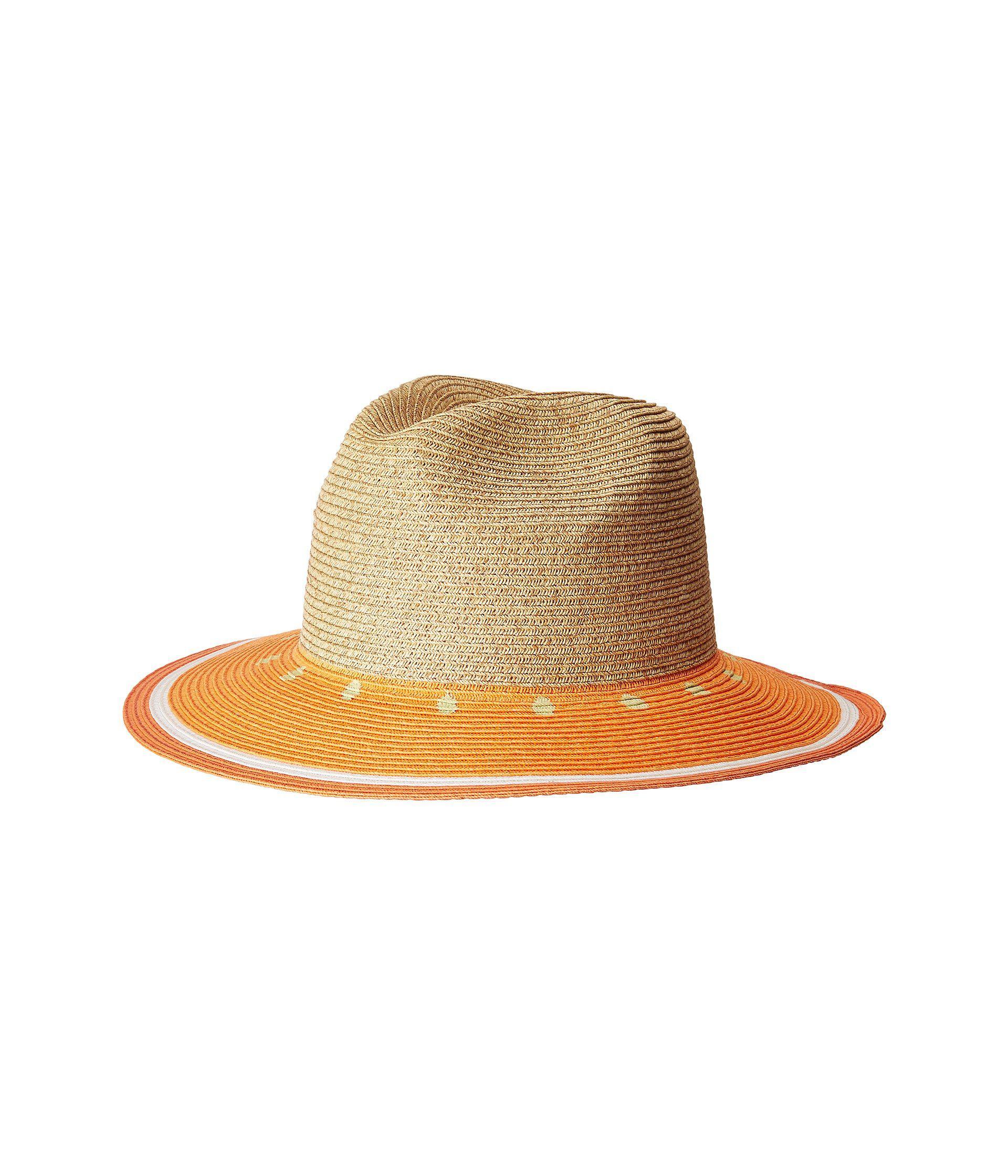 Lyst - San Diego Hat Company Ubf1102 Fruit Fedora in Orange e3d50feb3202