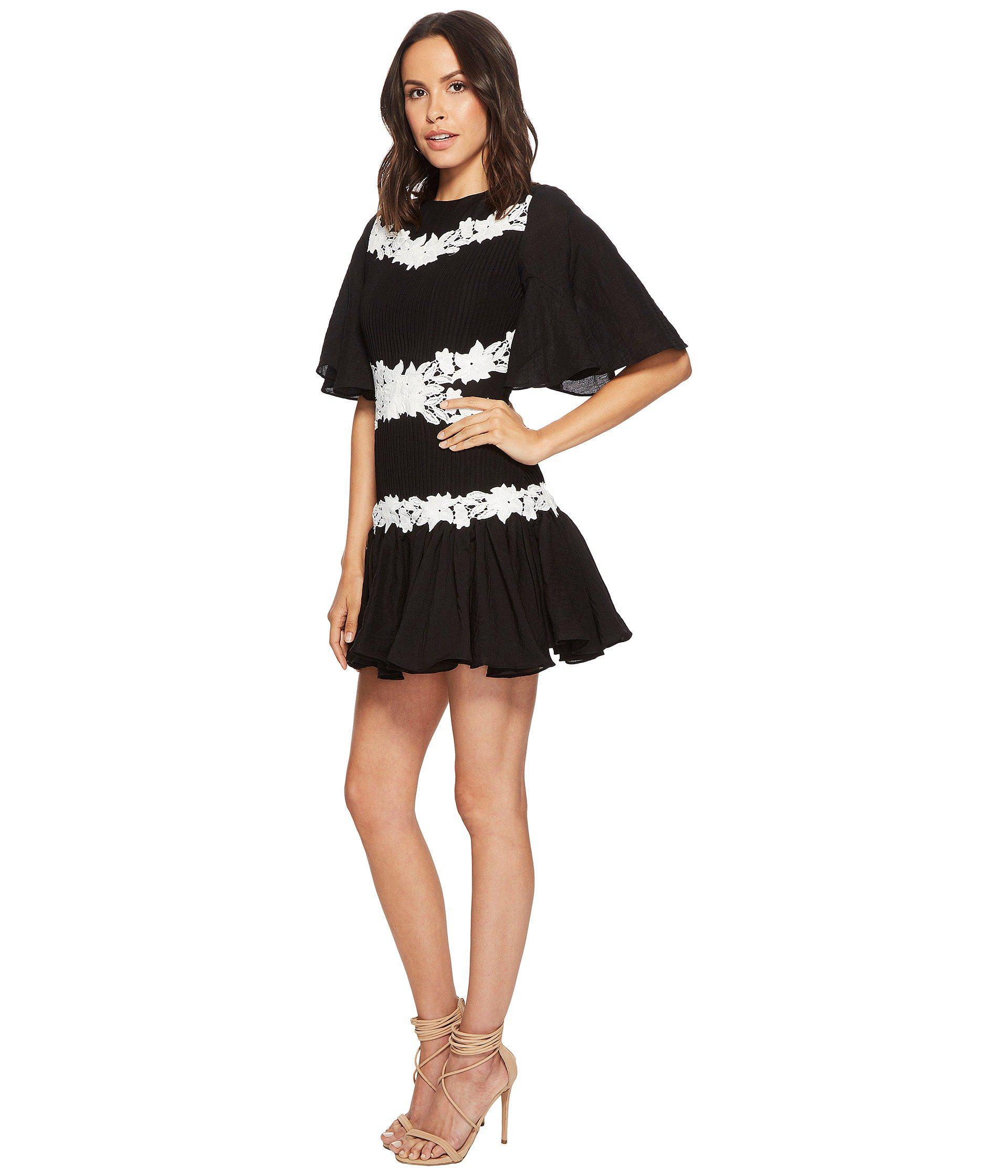 05137576b0 Lyst - Keepsake All Mine Appliqu  Minidress in Black
