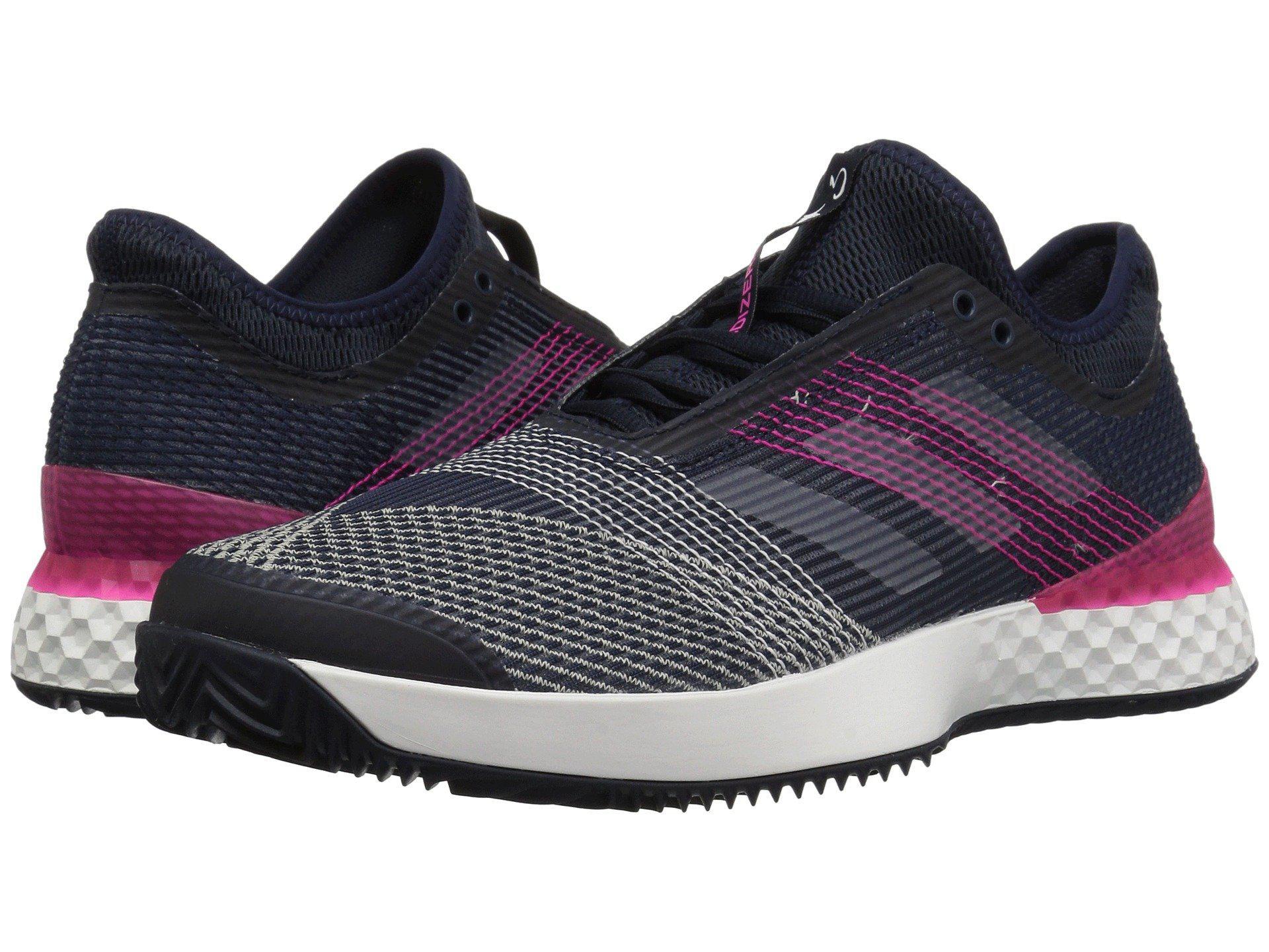 brand new e5be0 11499 adidas. Mens Blue Adizero Ubersonic 3 Clay
