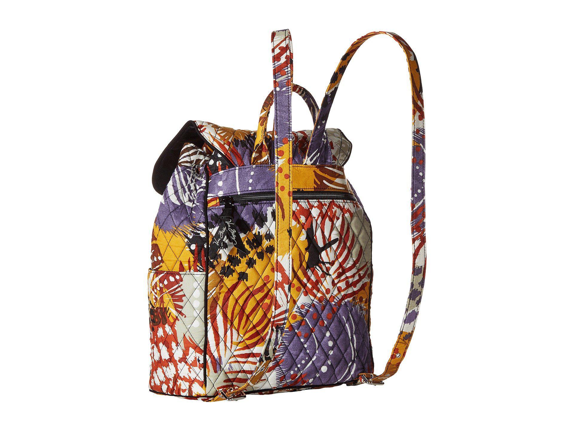 d5e681c261 Vera Bradley - Multicolor Drawstring Backpack - Lyst. View fullscreen