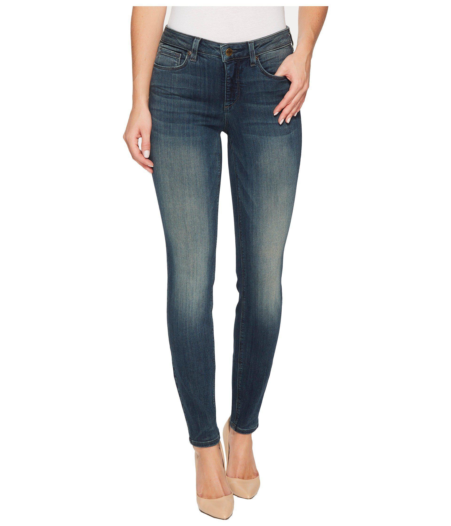 61969458888 Lyst - NYDJ Dylan Skinny Ankle Jeans In Sure Stretch Denim In Axiom ...