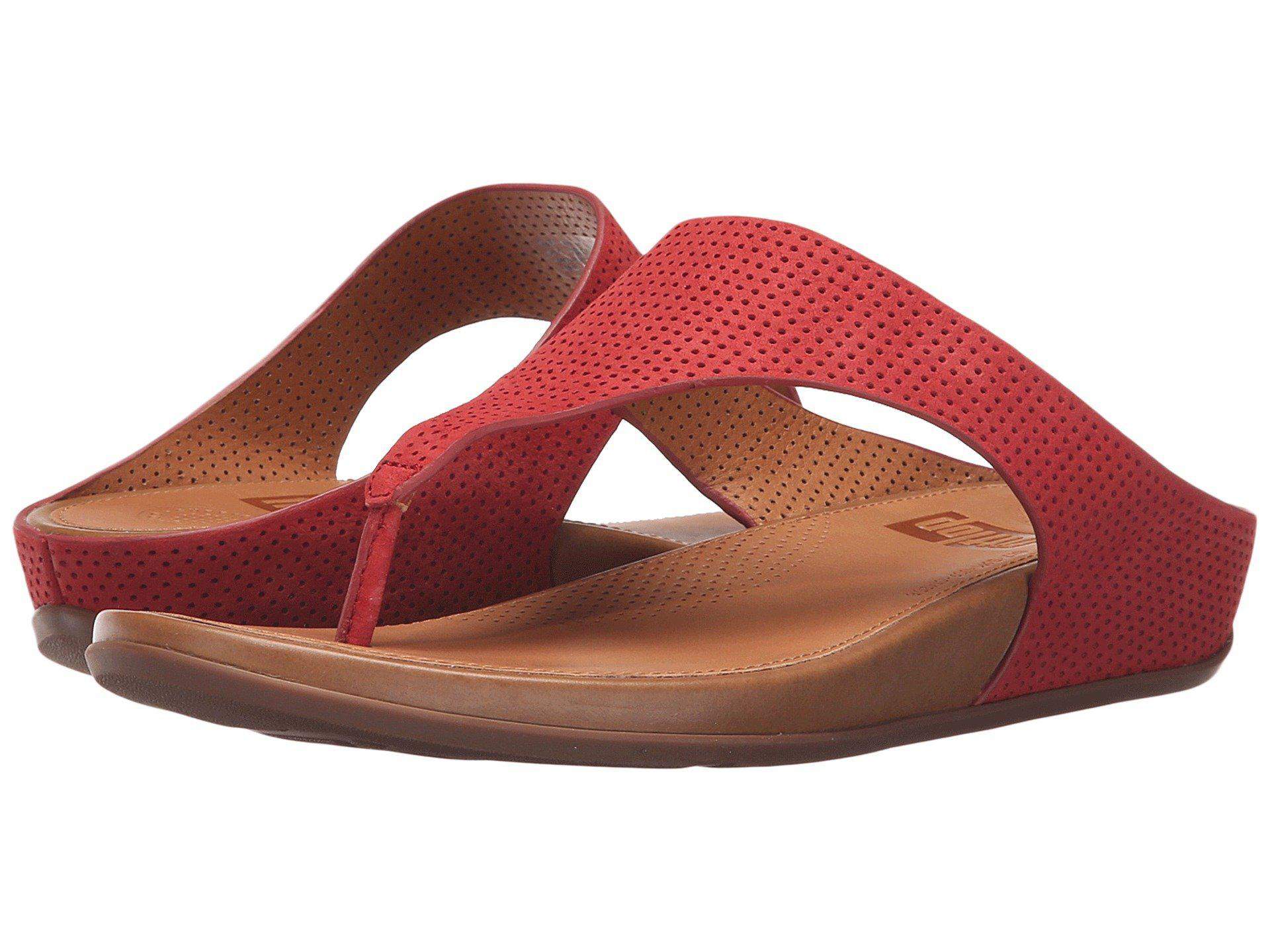 ee00eb51f29 Lyst - Fitflop Banda Perf in Red