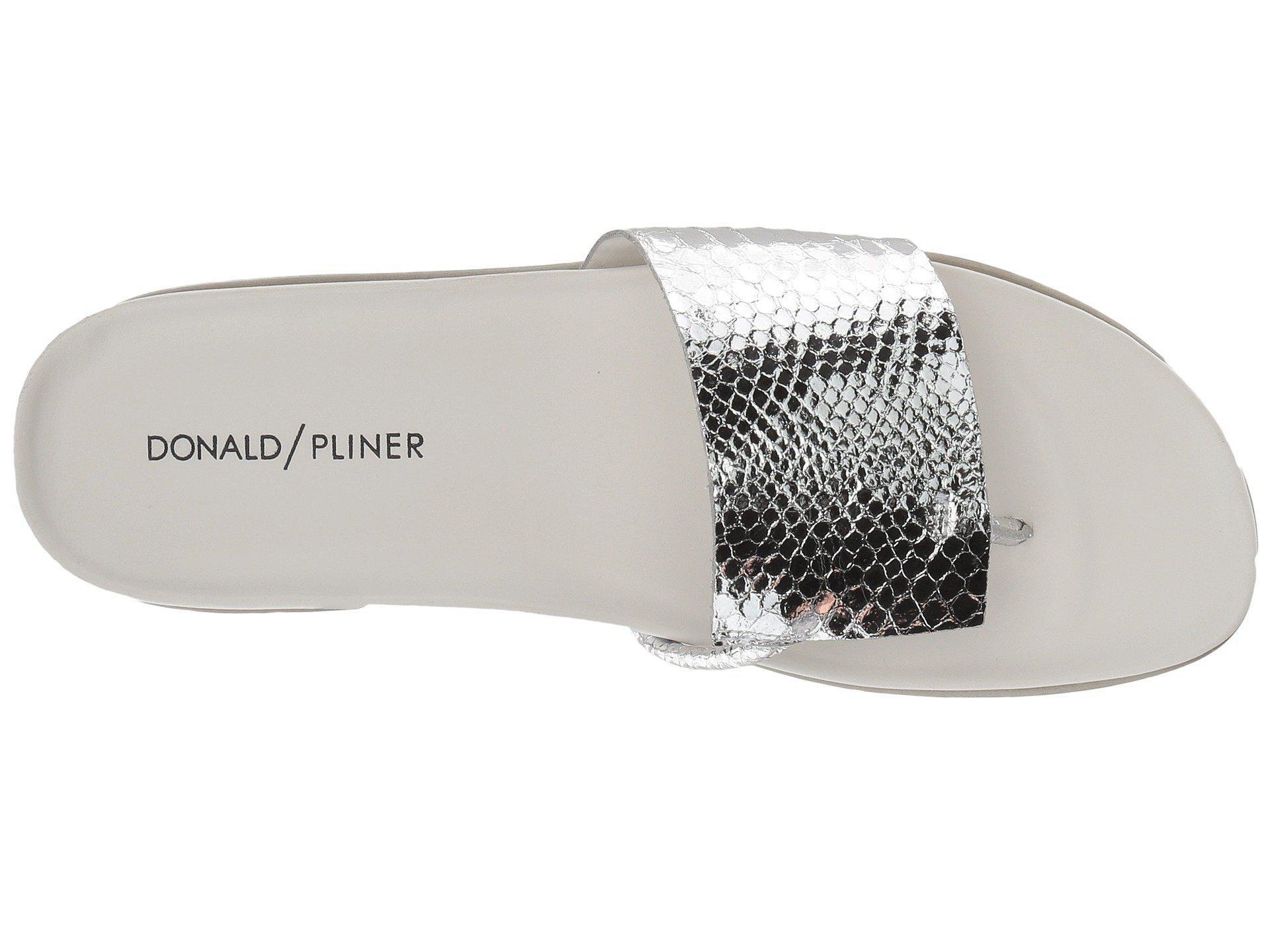 b50cda534178 Donald J Pliner - Metallic Fifi 19 - Lyst. View fullscreen