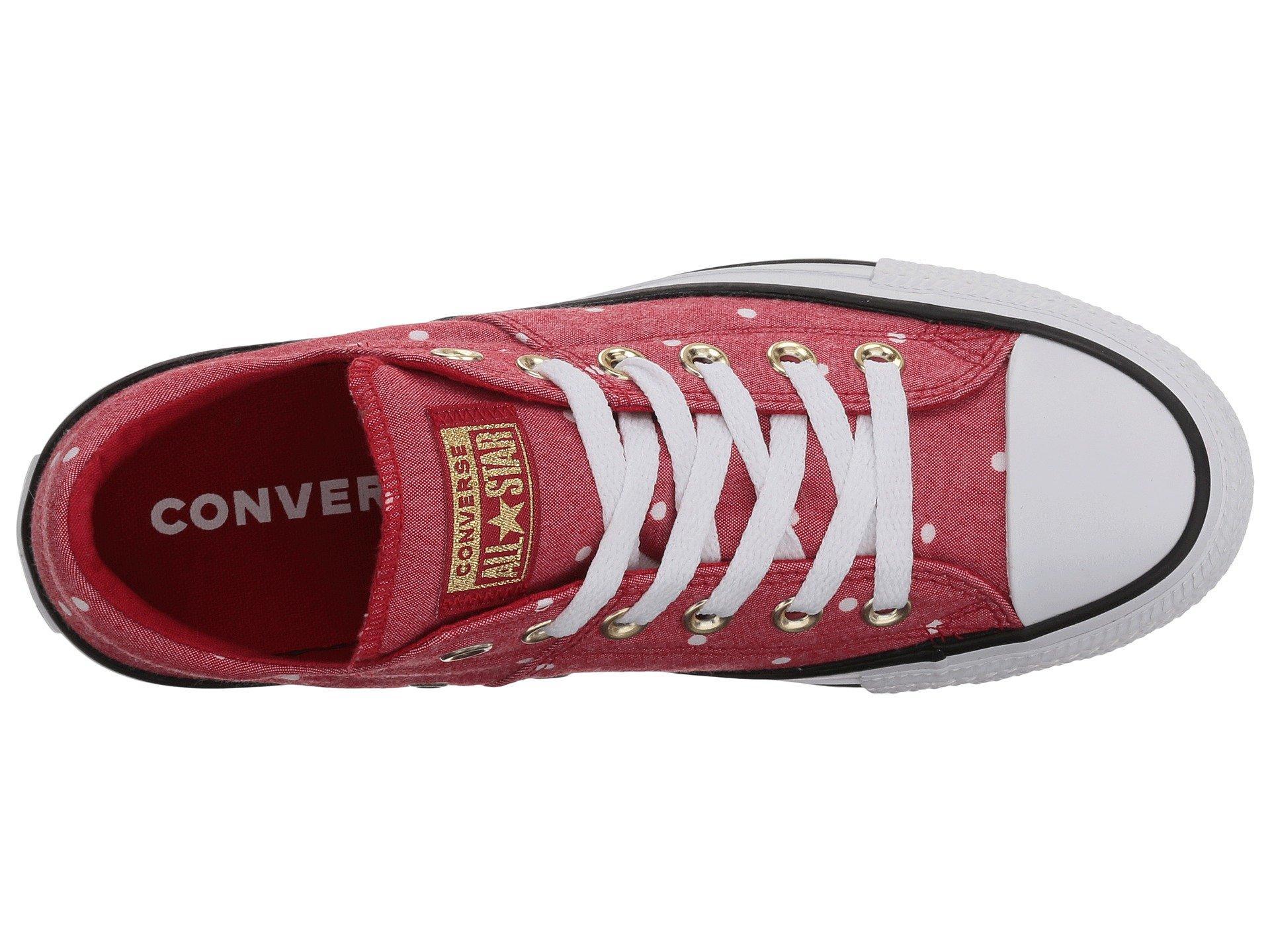 7fde87edf7da Converse - Red Chuck Taylor® All Star® Madison Ox - Mini Dots - Lyst. View  fullscreen