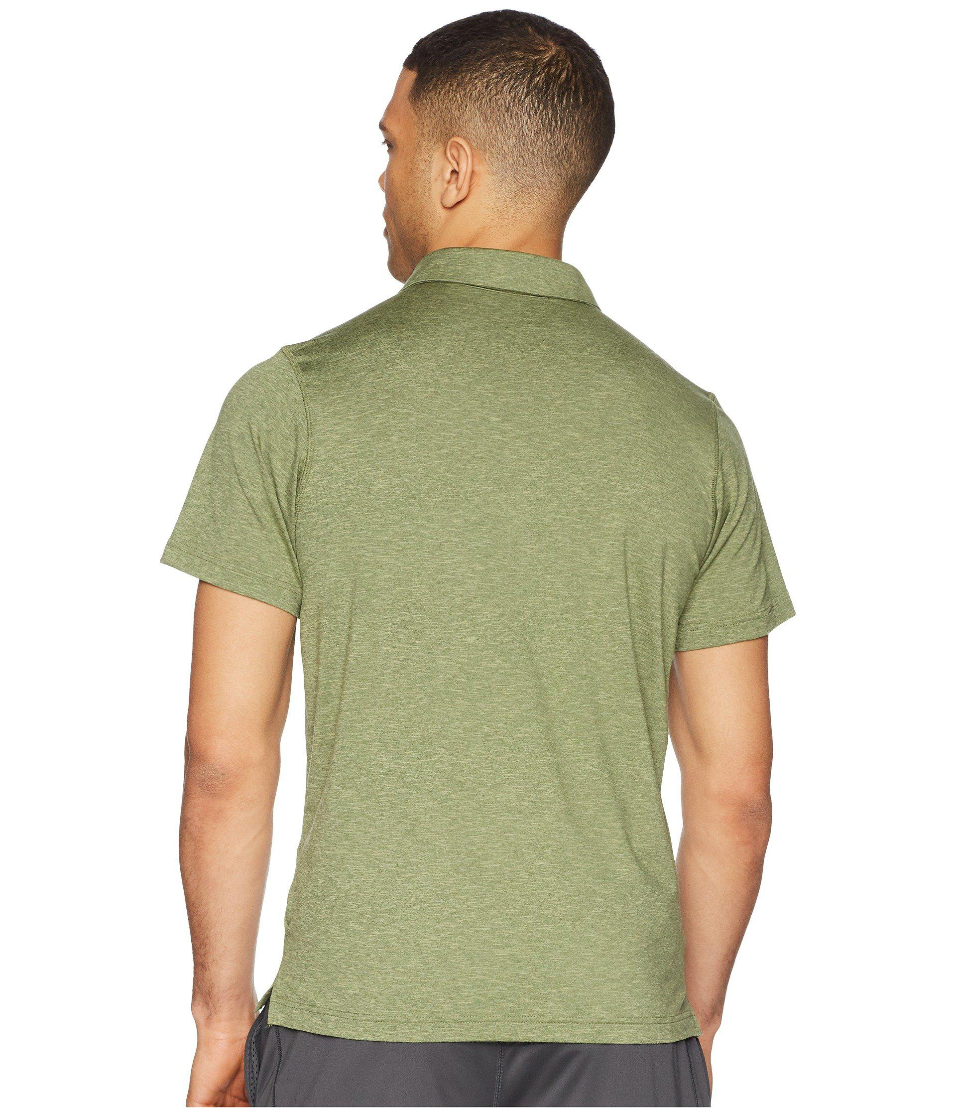 060a1efc700 Columbia Tech Trail Polo in Green for Men - Lyst
