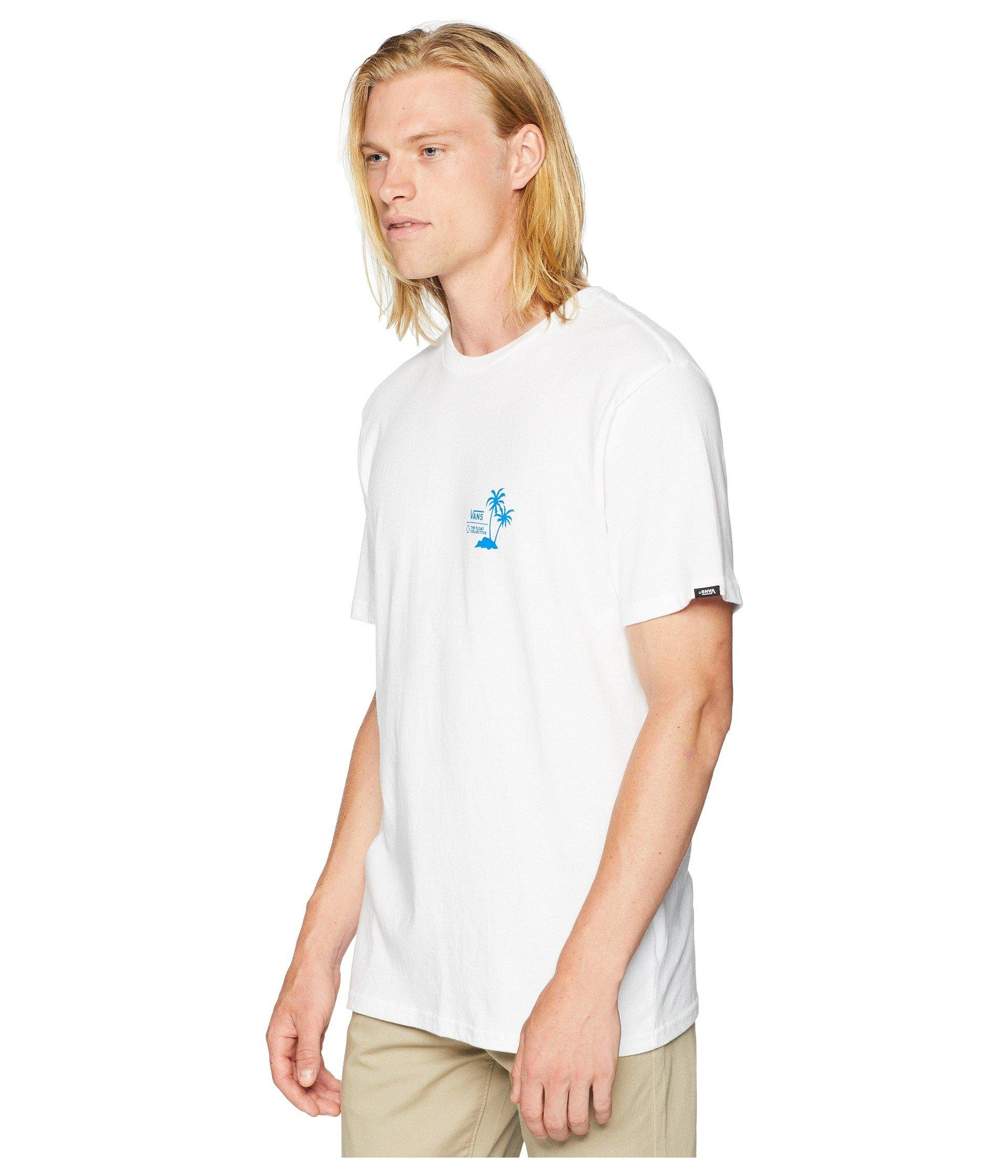 ee7123b3b6 Lyst - Vans X Float Collective T-shirt in White for Men
