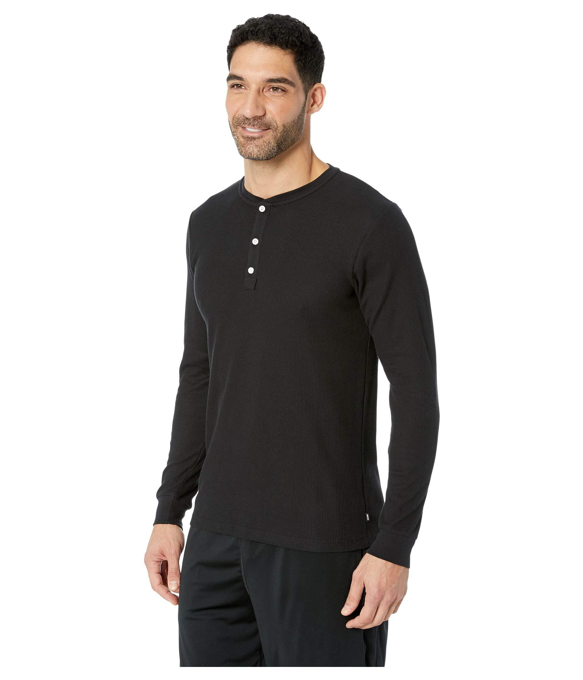 a53572af2edc Lyst - Nike Sb Thermal Henley Top in Black for Men - Save 33%