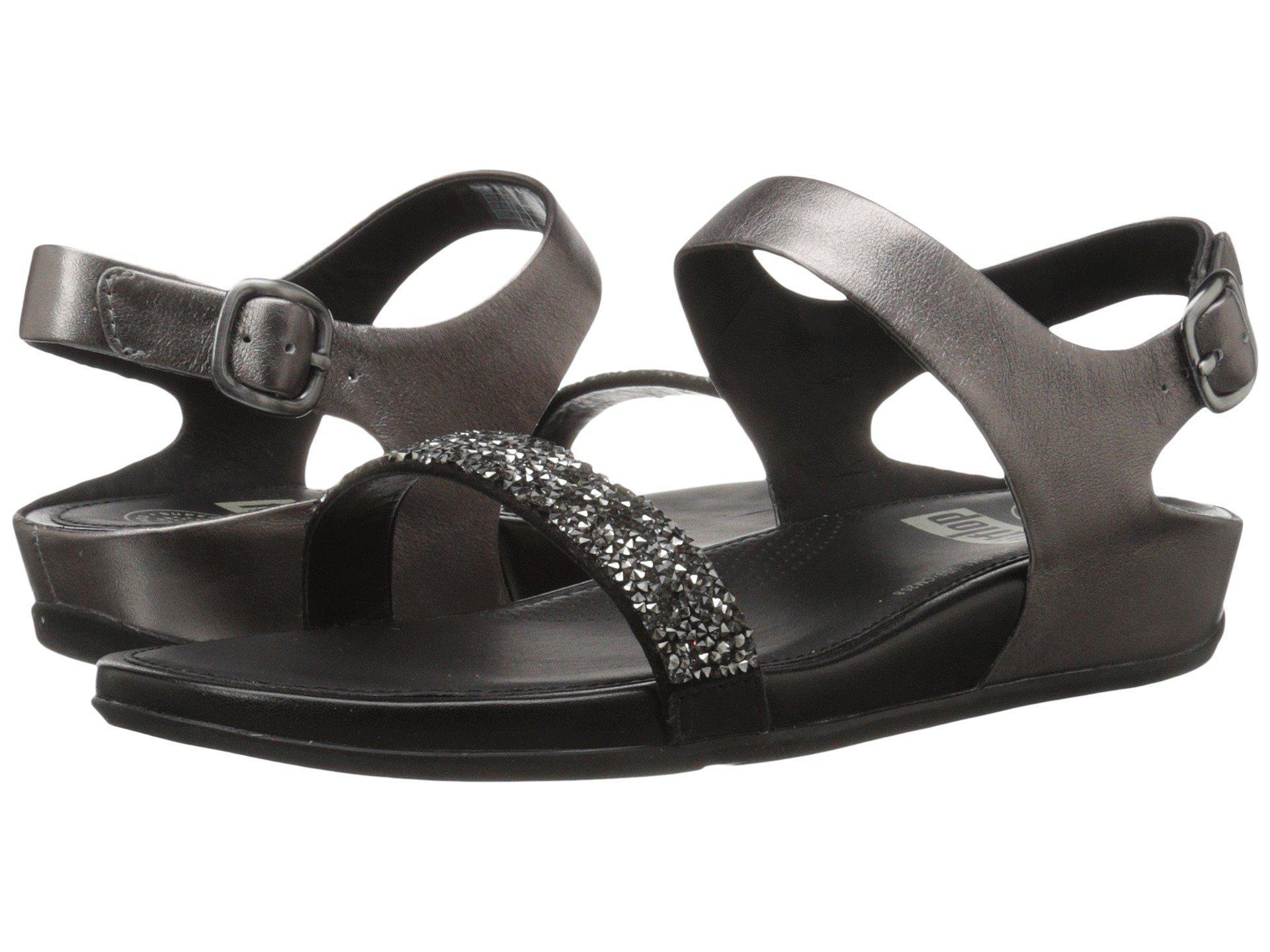 97a03f328 Lyst - Fitflop Banda Roxy Sandal in Black