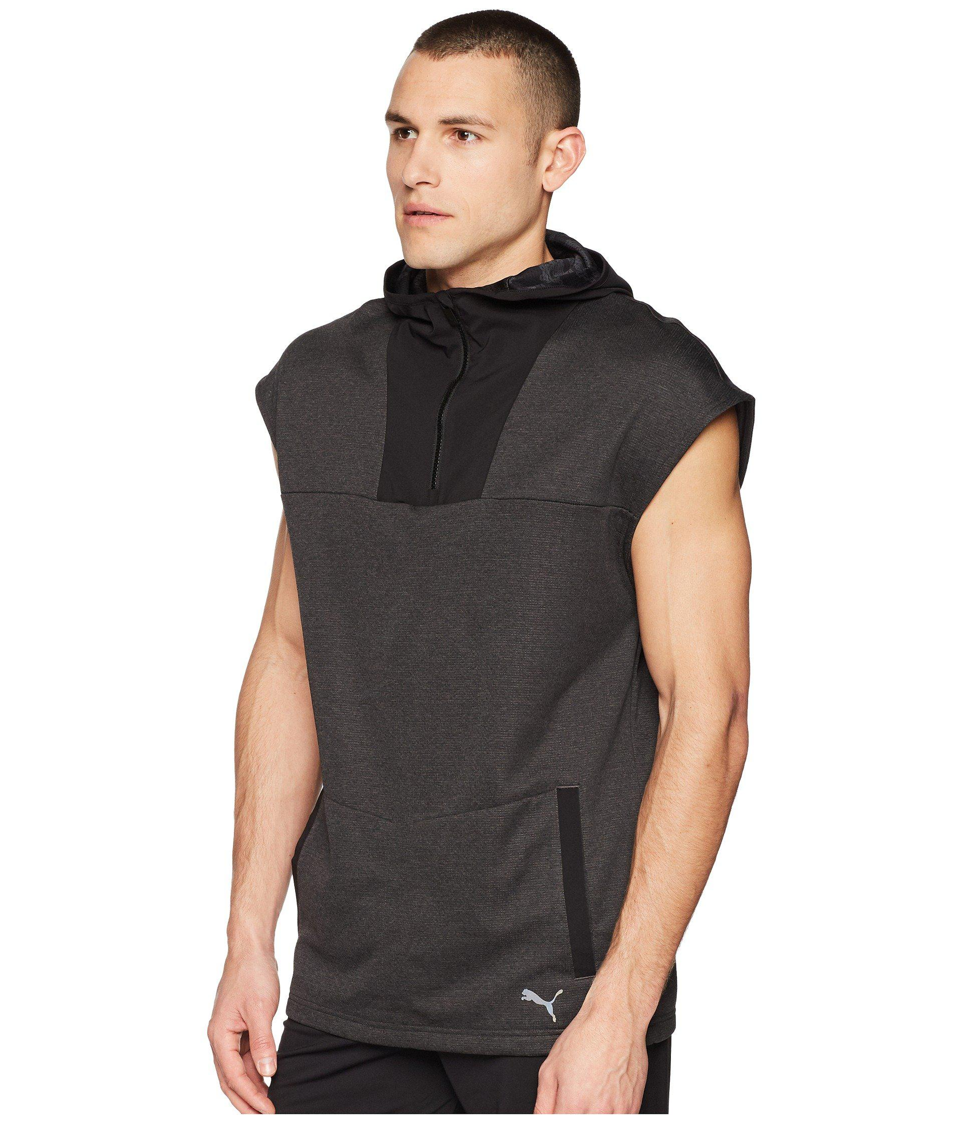 d802c17e47b6 Lyst - PUMA Oceanaire Sleeveless Hoodie in Gray for Men