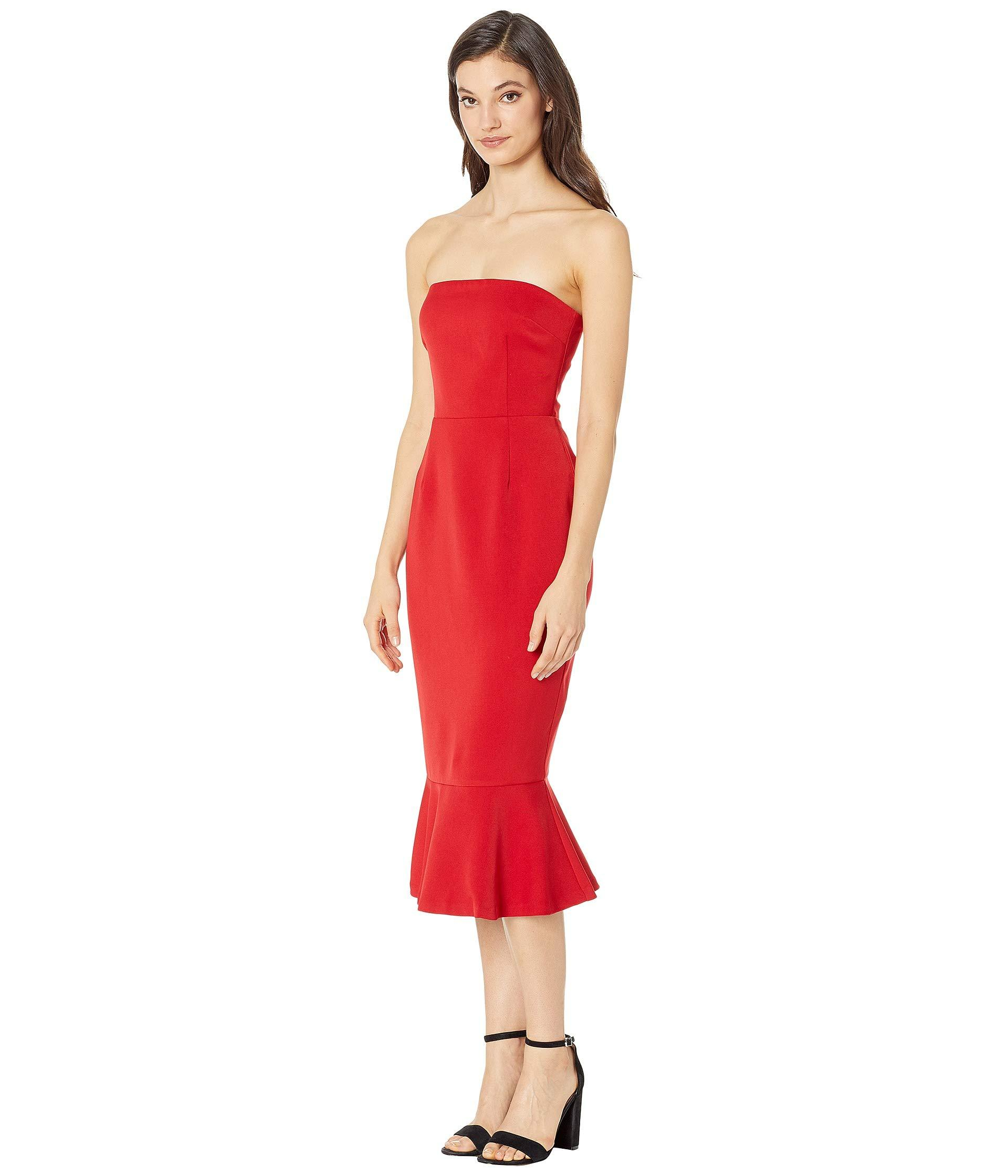 964d9e8780 Lyst - BB Dakota Light My Fire Strapless Dress in Red