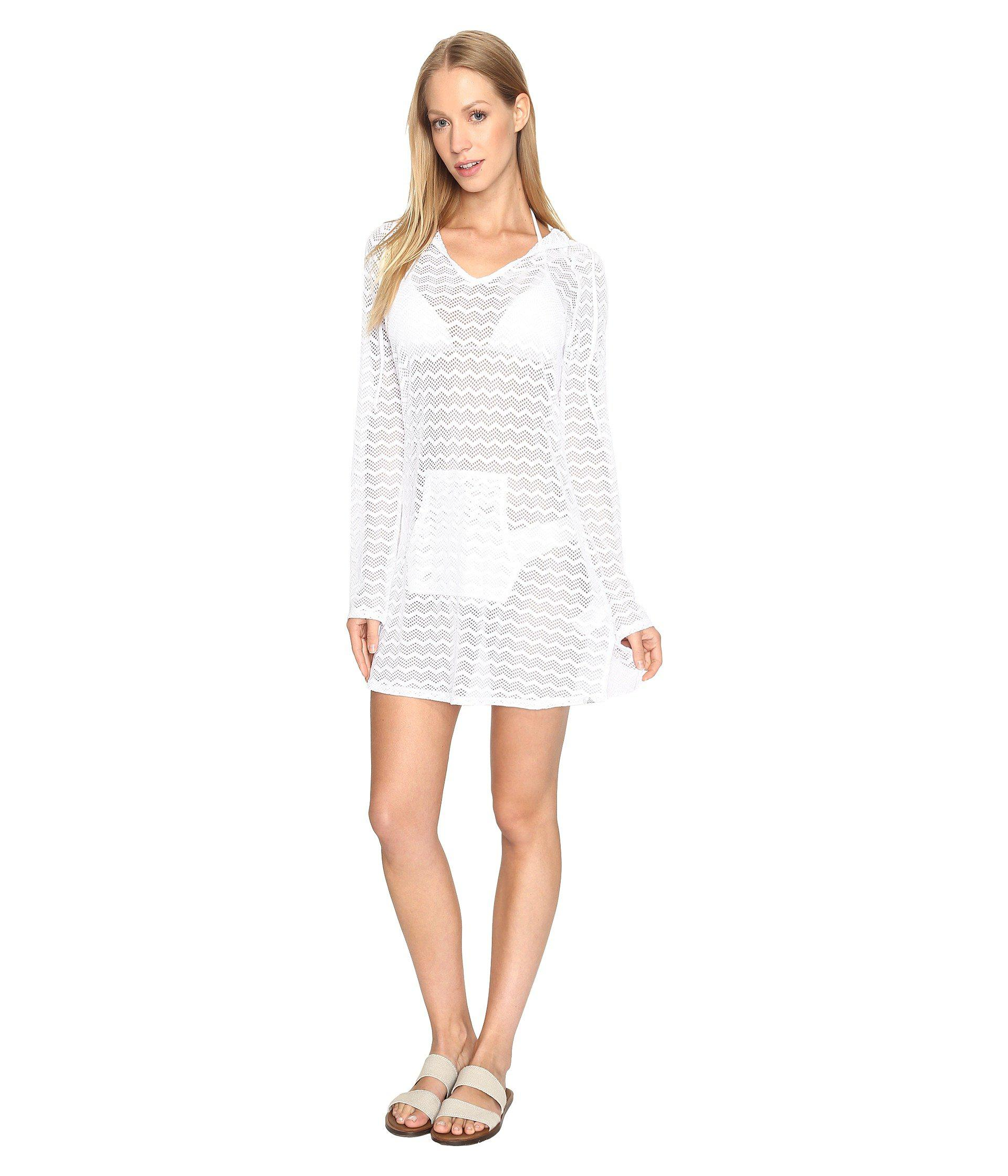 675033ff11 Lyst - Prana Luiza Tunic Cover Up in White