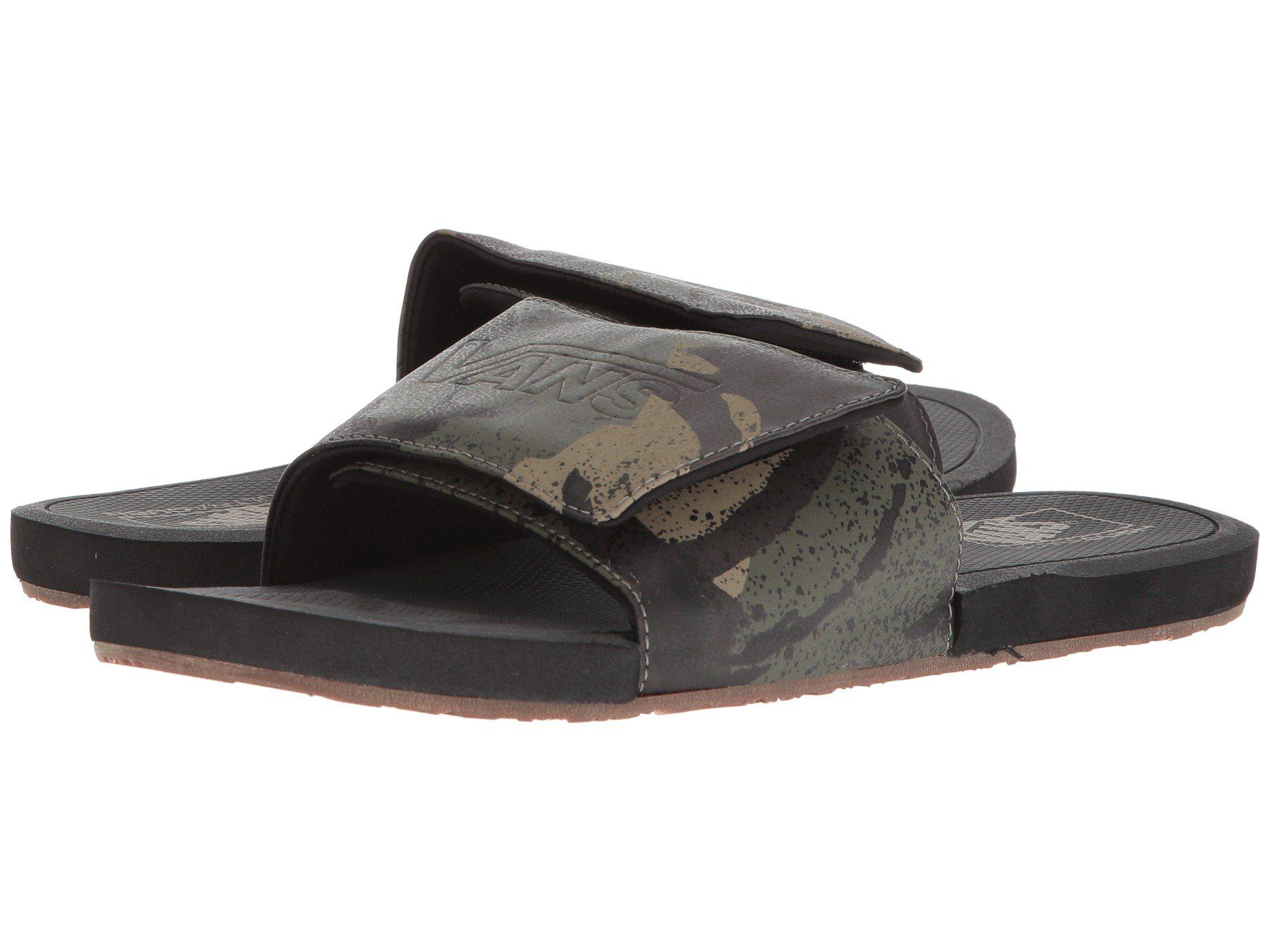 fc61c486787f Lyst - Vans Nexpa Slide in Black for Men