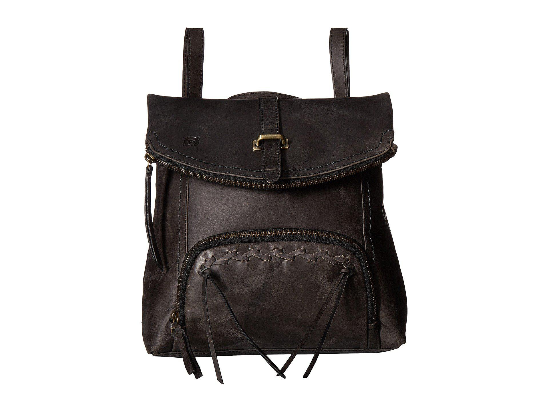 cc02150d683 Lyst - Born Archer Distressed Leather in Black
