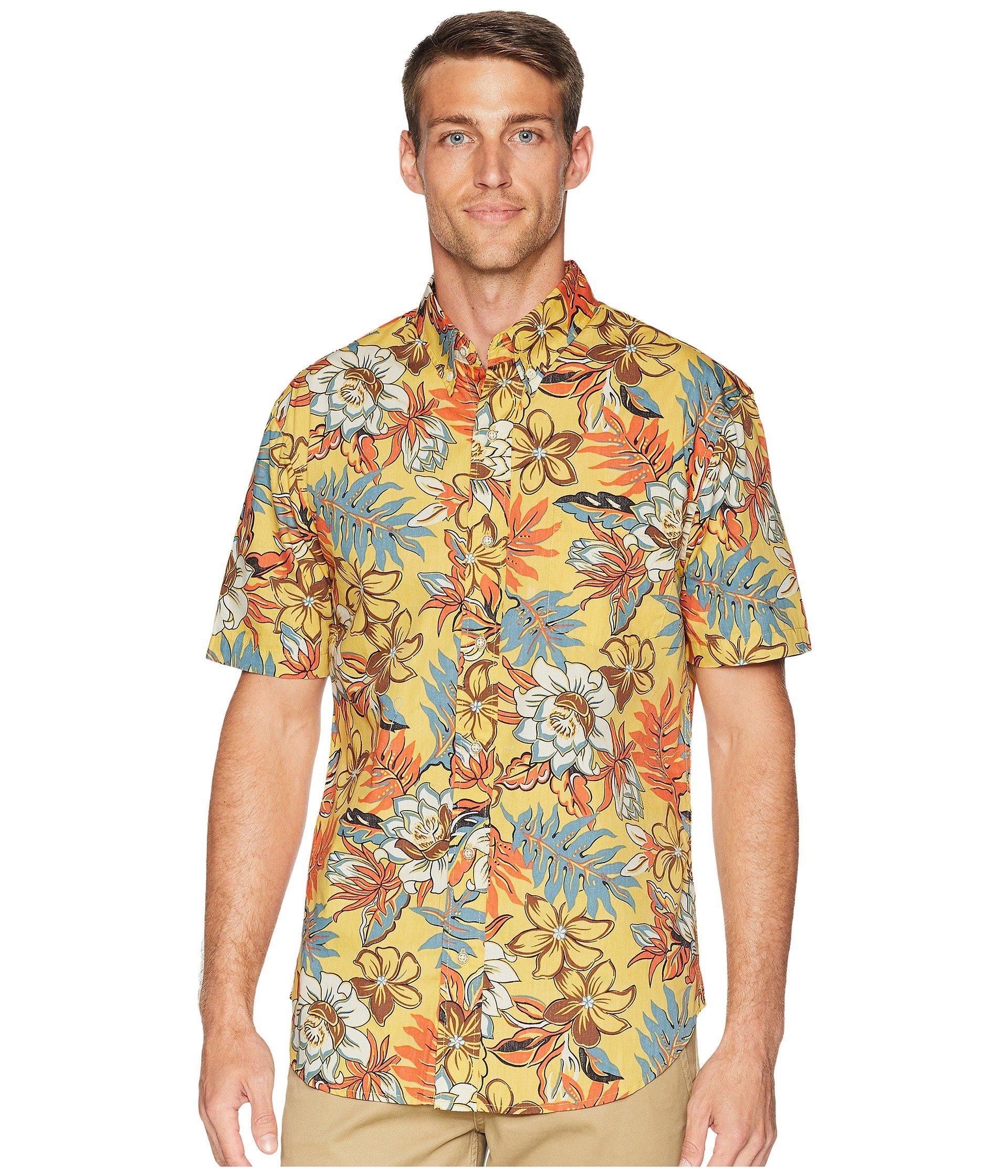 88836dd582a Lyst - Reyn Spooner Vintage Hawaiian Floral Tailored Aloha Shirt in ...