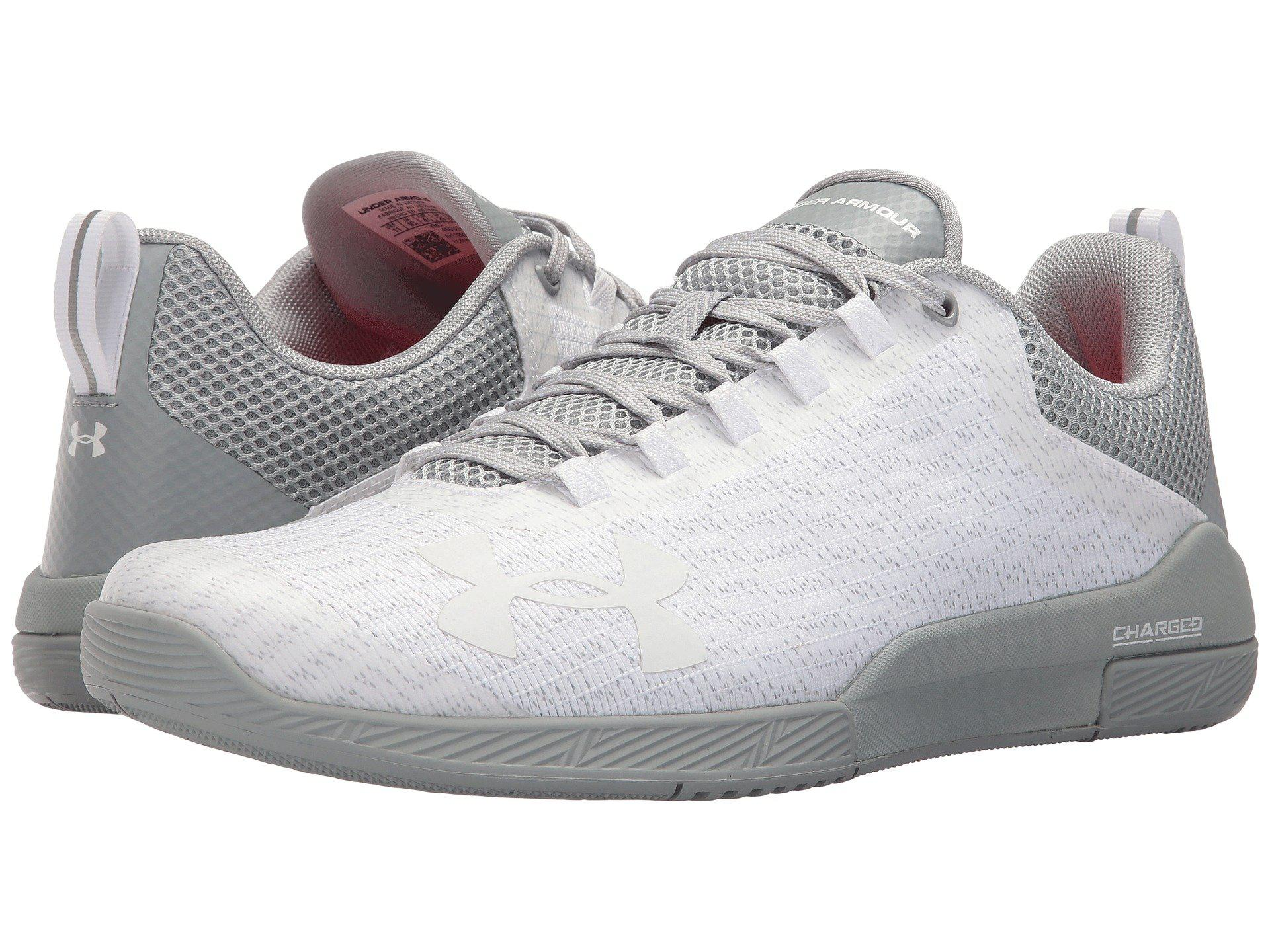Under Armour. Men's White Ua Charged Legend Tr