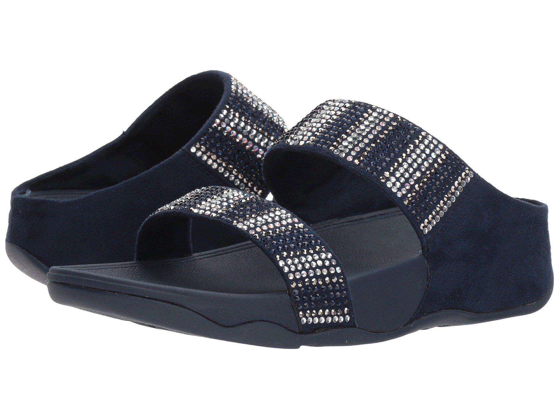 Footlocker Finishline Online FitFlop Women's Flare Strobe Slide Open Toe Sandals Hot Sale Online Authentic For Sale jGOXdv