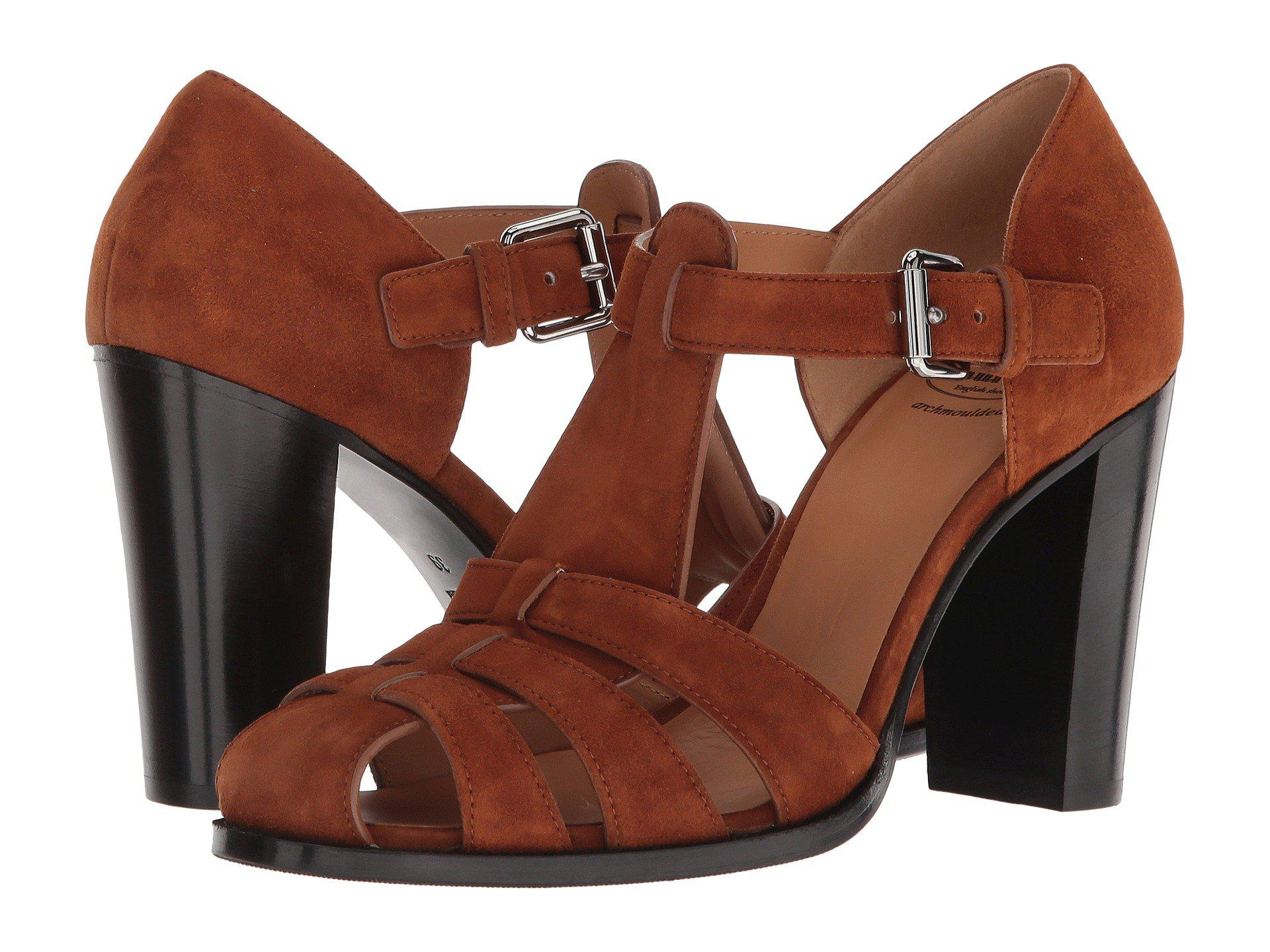 9ad5f688d331 Lyst - Church s Kelsey Suede Sandal in Brown - Save 69.83050847457628%