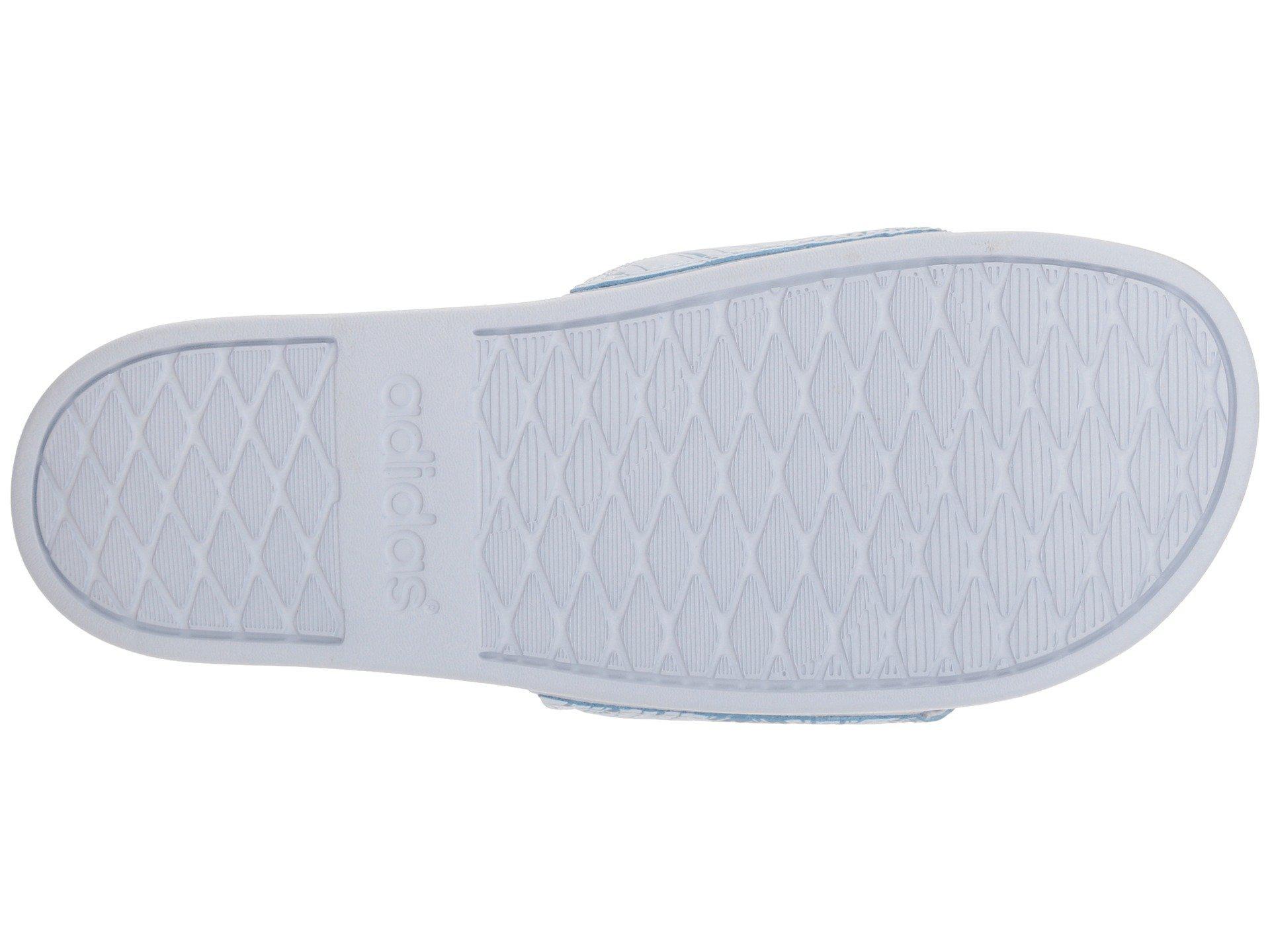 more photos 034ea 611d7 ... separation shoes 9dc98 680df Adidas - Blue Adilette Cf+ Gr - Lyst. View  fullscreen