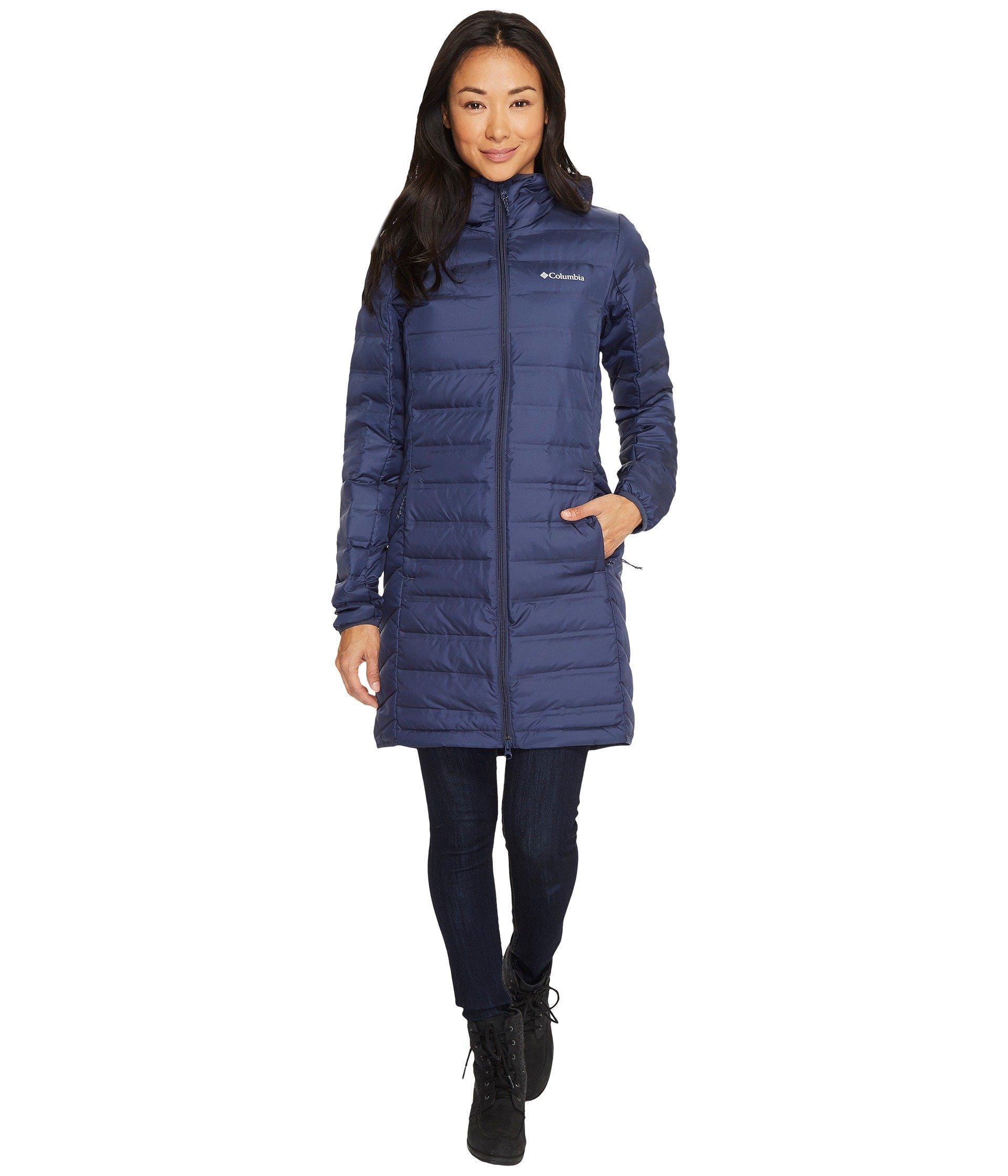 16022a1ec91cf Columbia - Blue Lake 22 Long Hooded Jacket - Lyst. View fullscreen