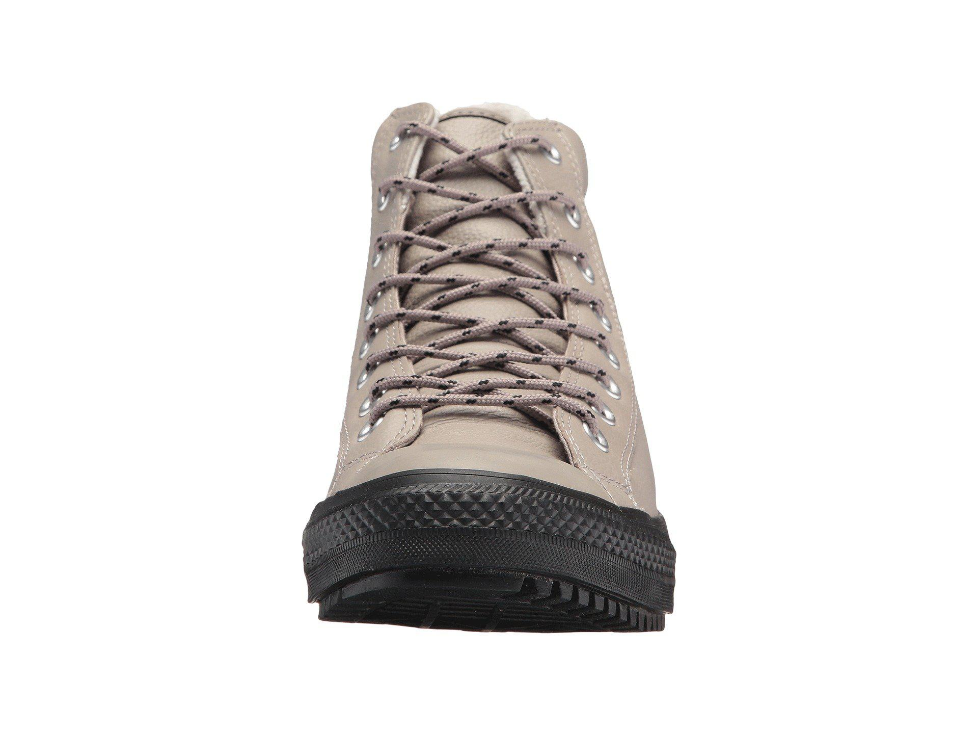Lyst - Converse Chuck Taylor® All Star® Boot Pc Tumbled Leather Hi ... 914124188