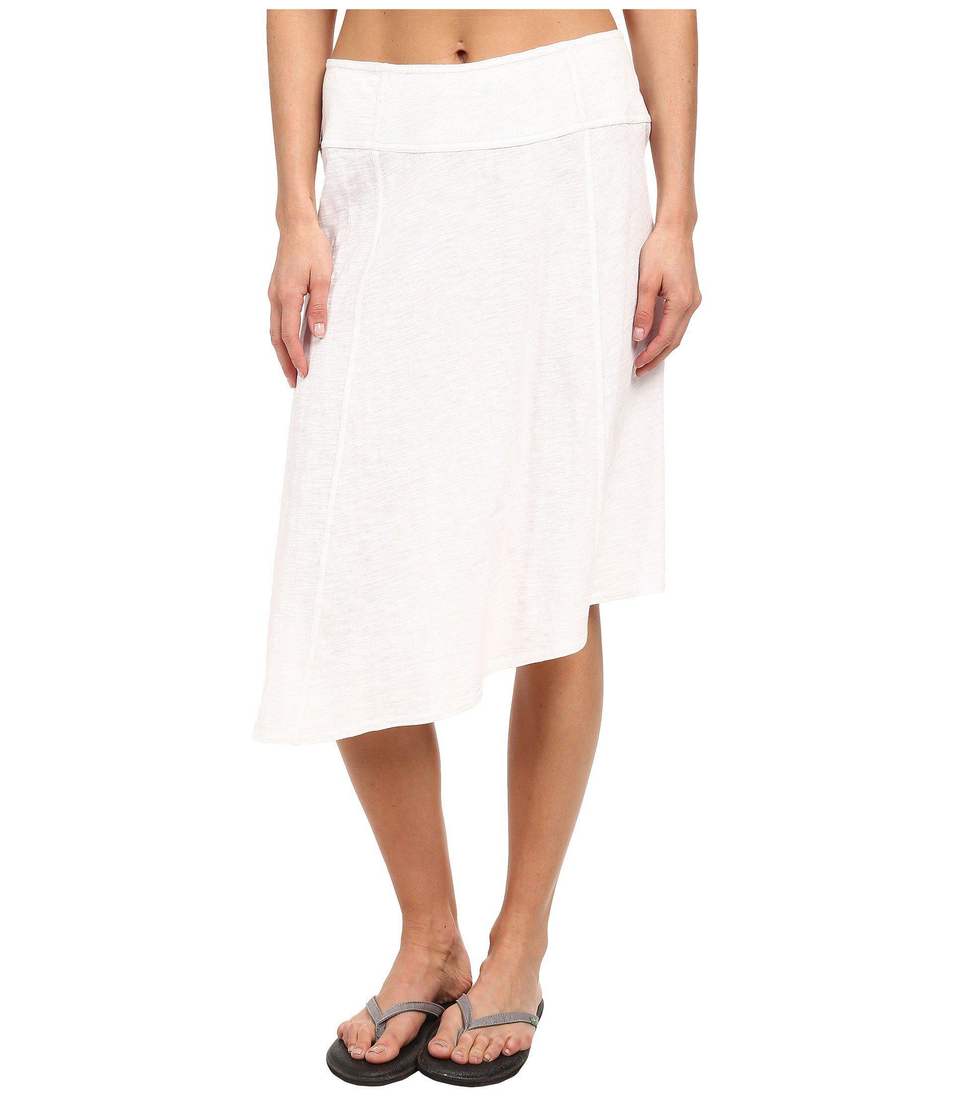7e0cf198f7 Lyst - Prana Jacinta Skirt in White