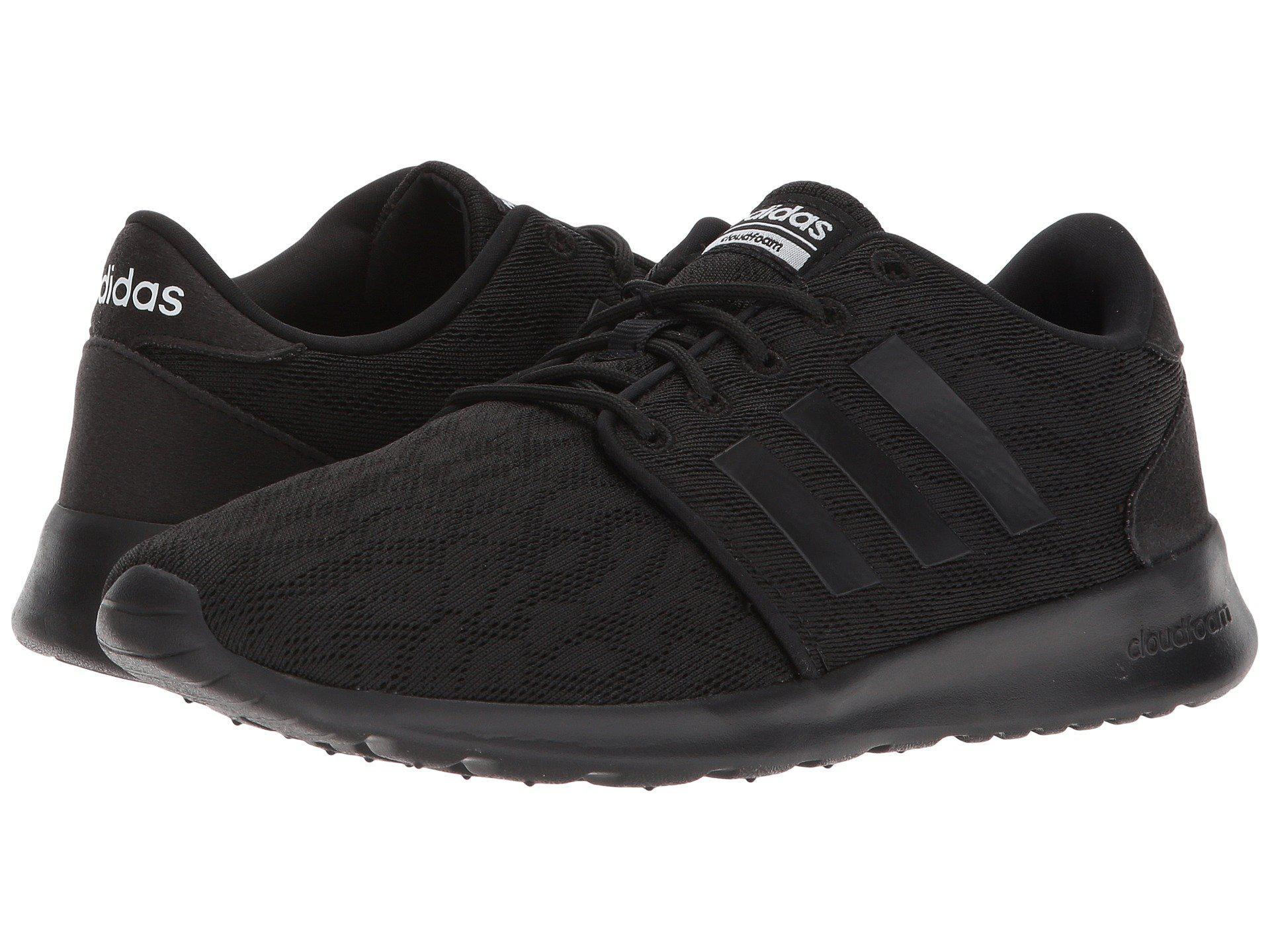 ef6651b2a3b Lyst - adidas Cloudfoam Qt Racer in Black