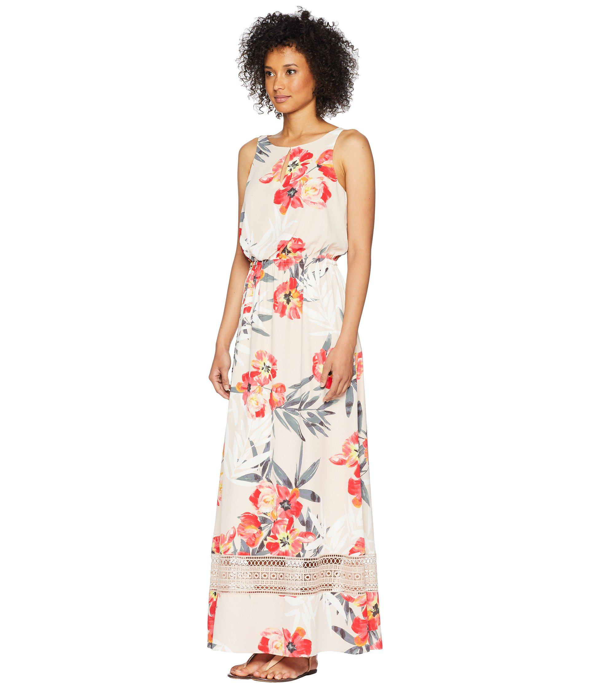 482abbcb778 Lyst - Adrianna Papell Tropical Breeze Maxi Dress - Save 35%