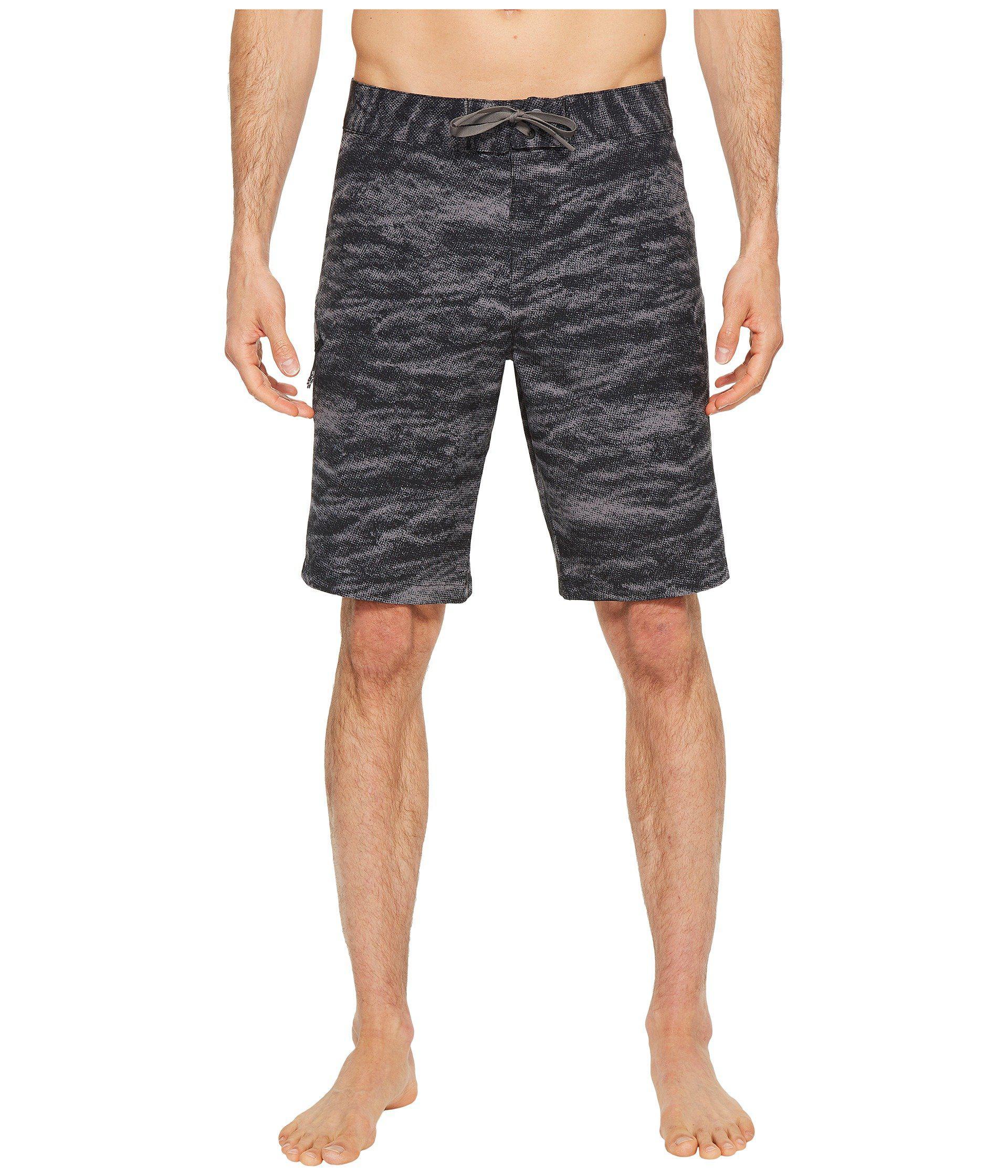 b211db0355674 Lyst - Under Armour Ua Reblek Printed Boardshorts in Black for Men ...
