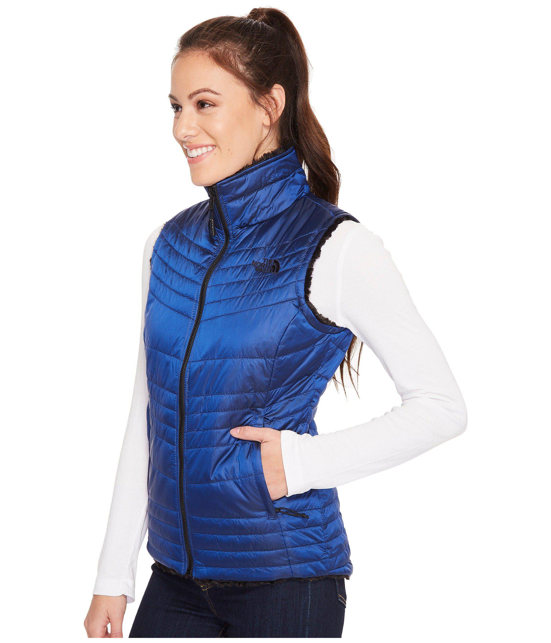 2324228f216b Lyst - The North Face Mossbud Swirl Vest in Blue - Save 26%