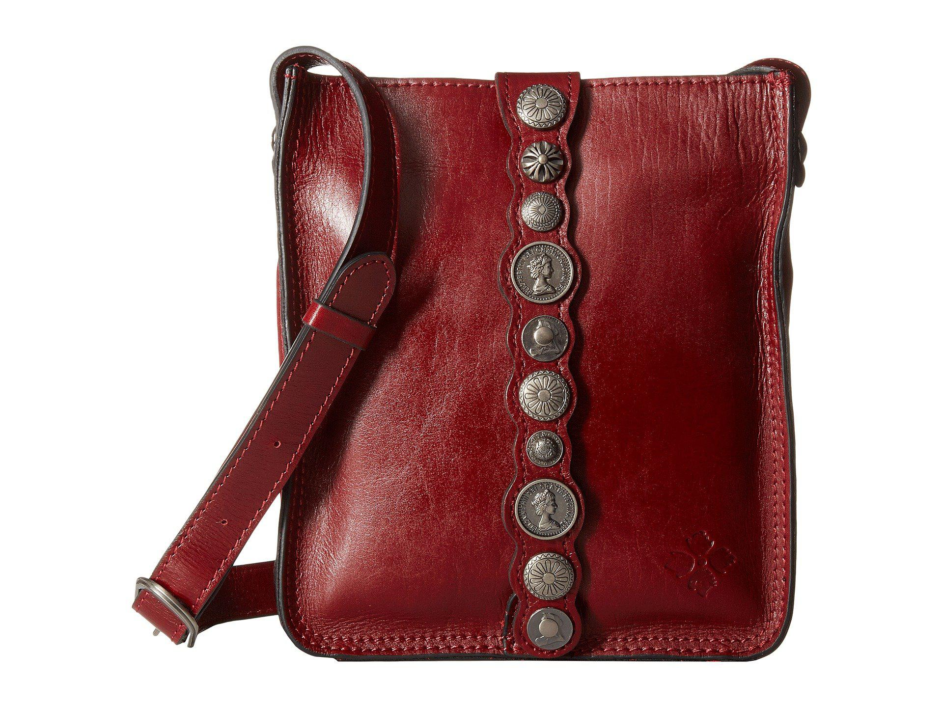 Lyst - Patricia Nash Venezia Crossbody in Red - Save 12% 8bd0cb46d0a5d