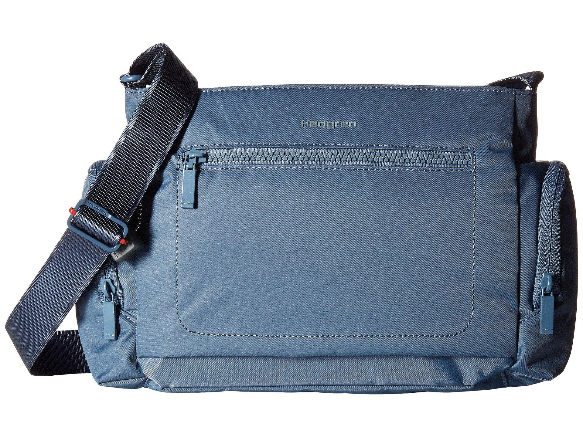 Lyst - Hedgren Commuter Horizontal Crossbody in Blue ca256e4b0cc14