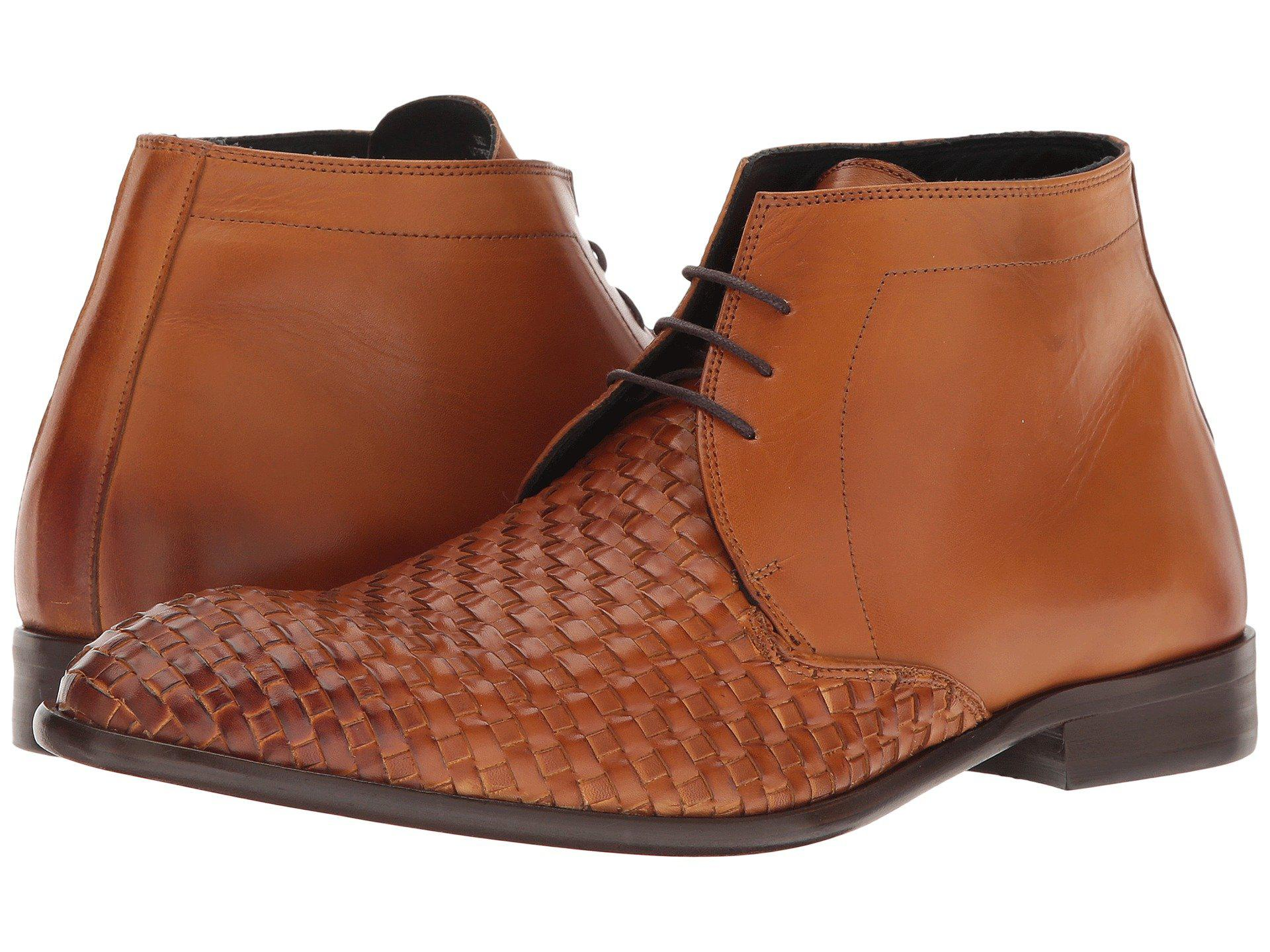 Messico Oriol Burnished Honey Leather Men