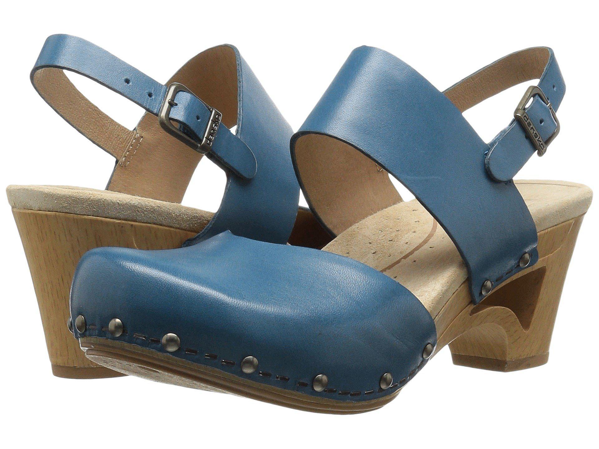 Thea Xbqcrwdeo Dansko Blue In Lyst 8ONwnvm0