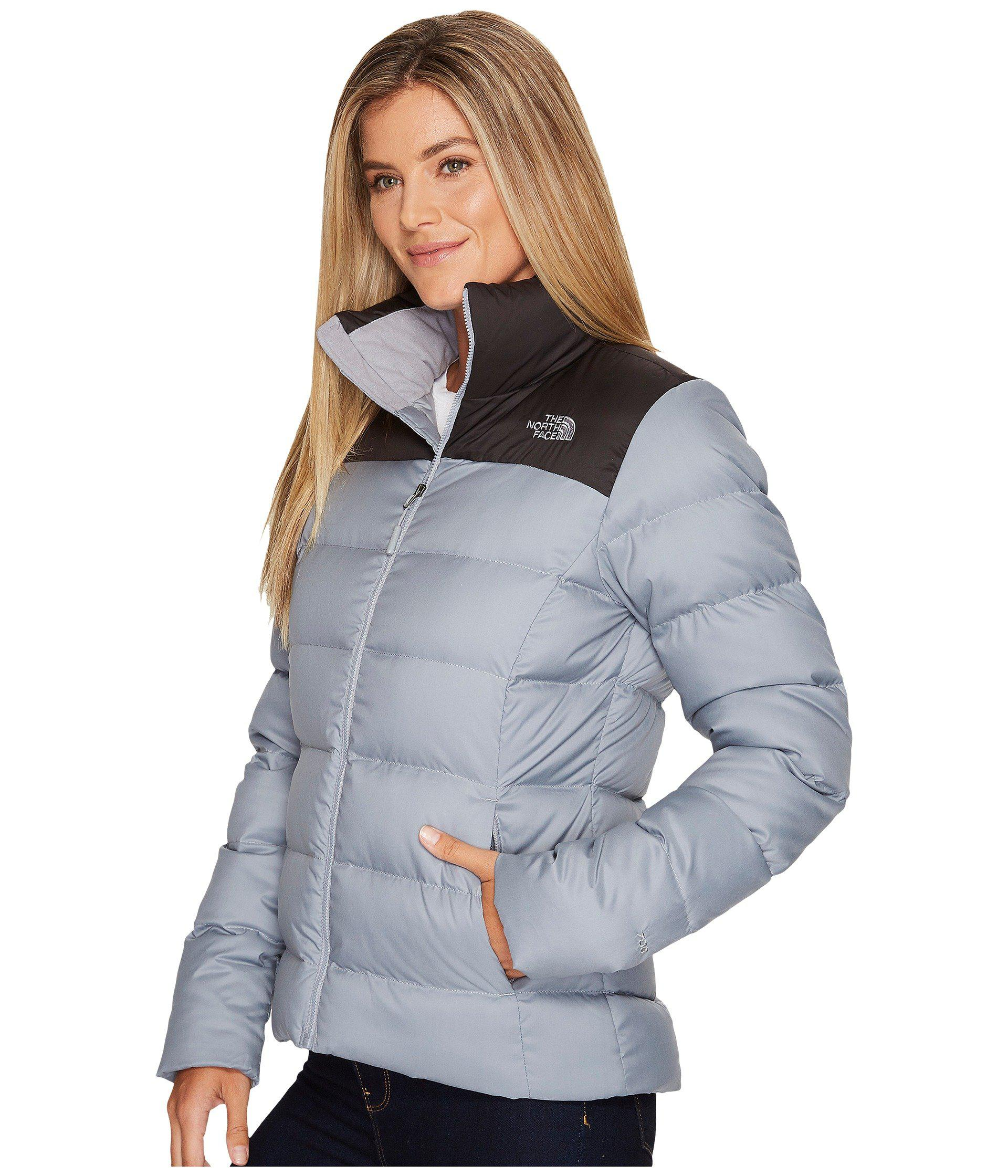05eaed139d25 Lyst - The North Face Nuptse Jacket in Gray - Save 22%