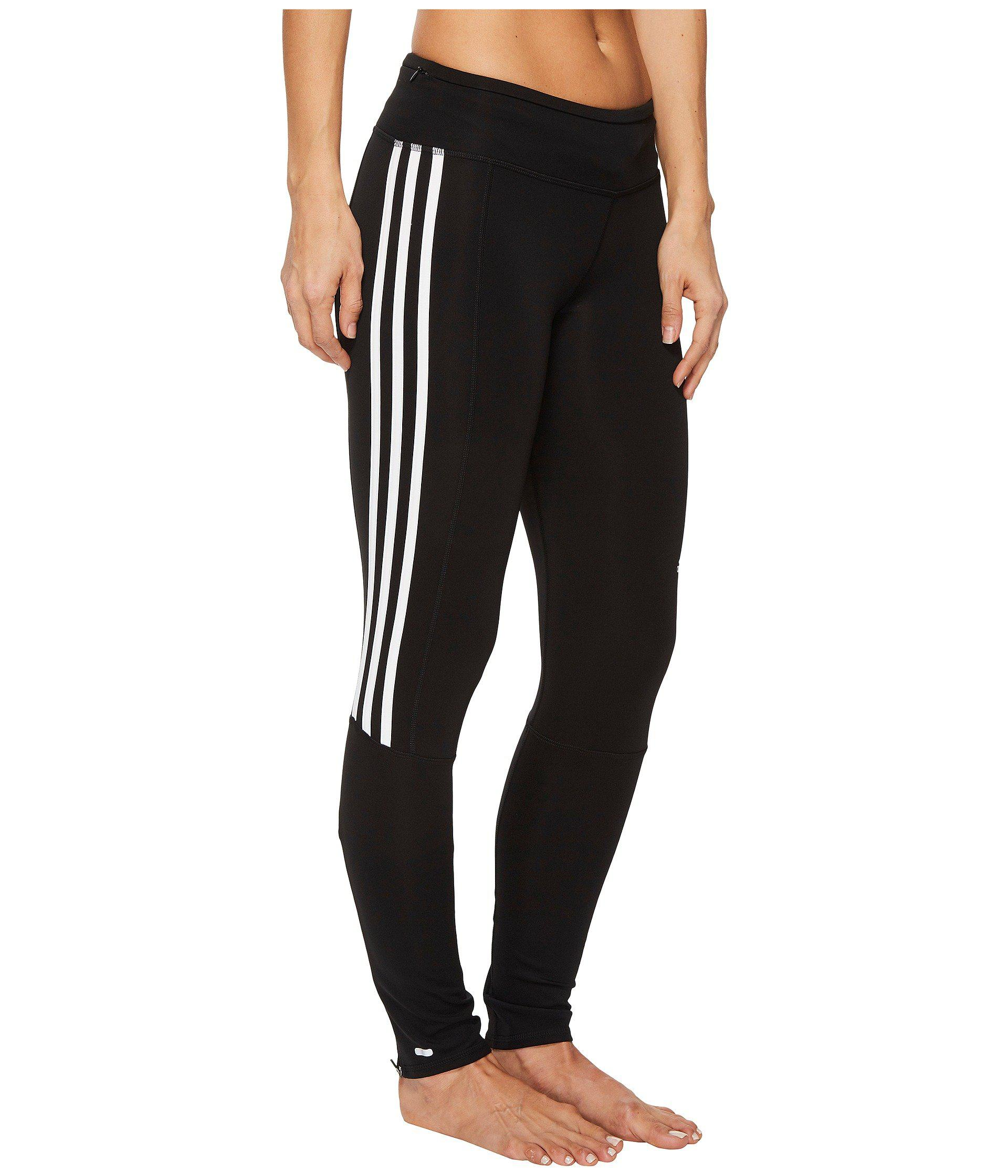 Lyst negro Adidas rayas Response Tights 3 rayas Long Tights en negro 76c6cc3 - generiskmedicin.website