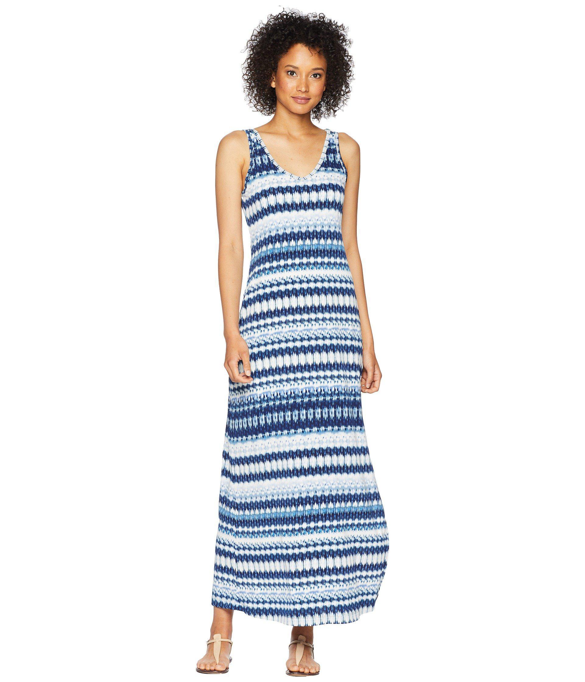 be491649146 Lyst - Karen Kane Side Slit Maxi Dress in Blue - Save 22%