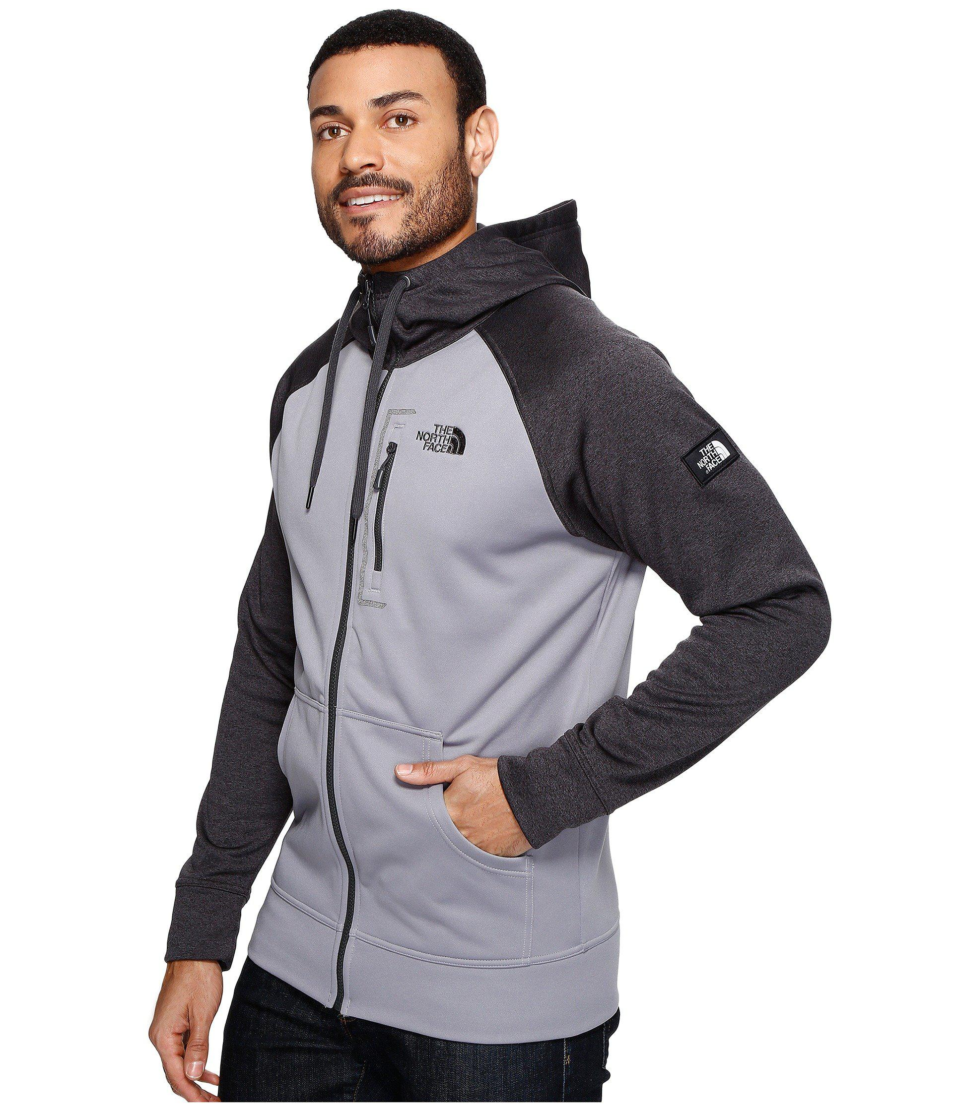 b905d671e283 Lyst - The North Face Mack Mays Full Zip Hoodie in Gray for Men