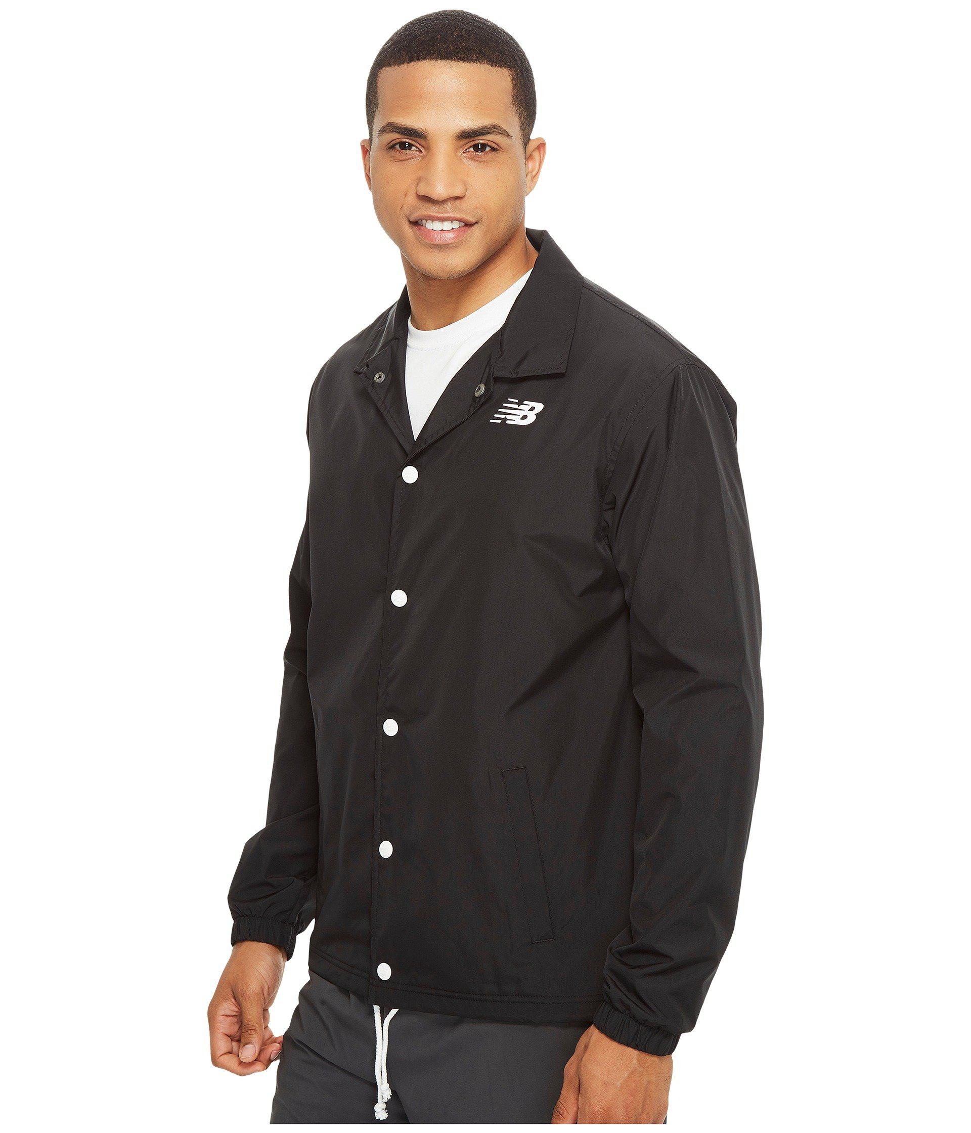 04d4d85e5 New Balance Classic Coaches Jacket in Black for Men - Lyst