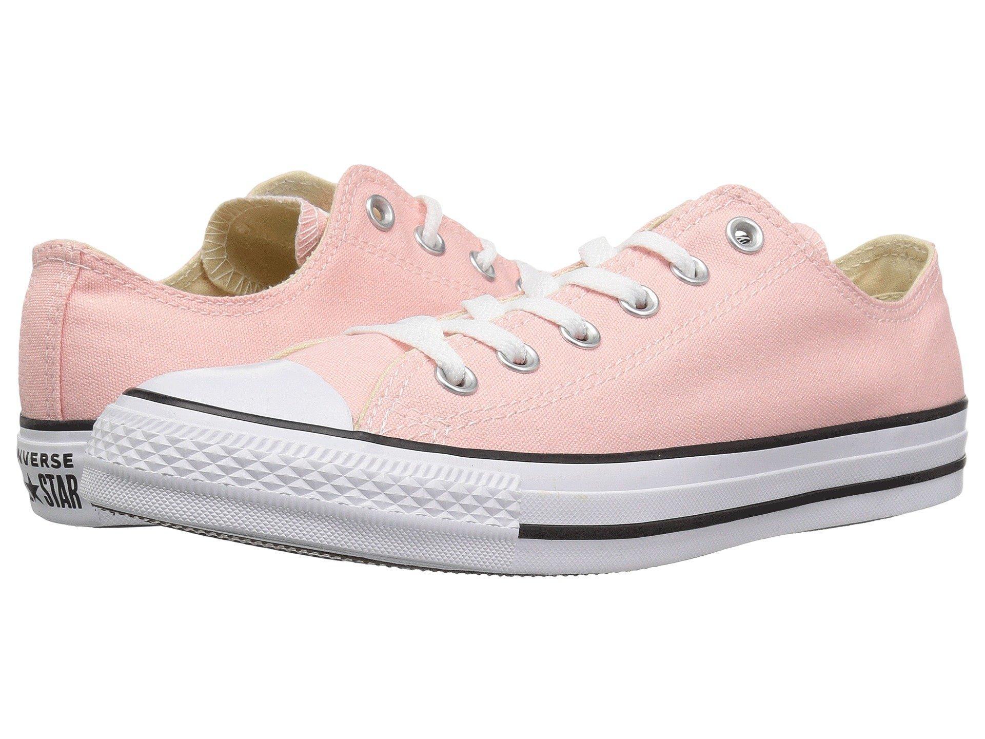 8b72d0a1afe01b Lyst - Converse Chuck Taylor All Star Seasonal Ox in Pink