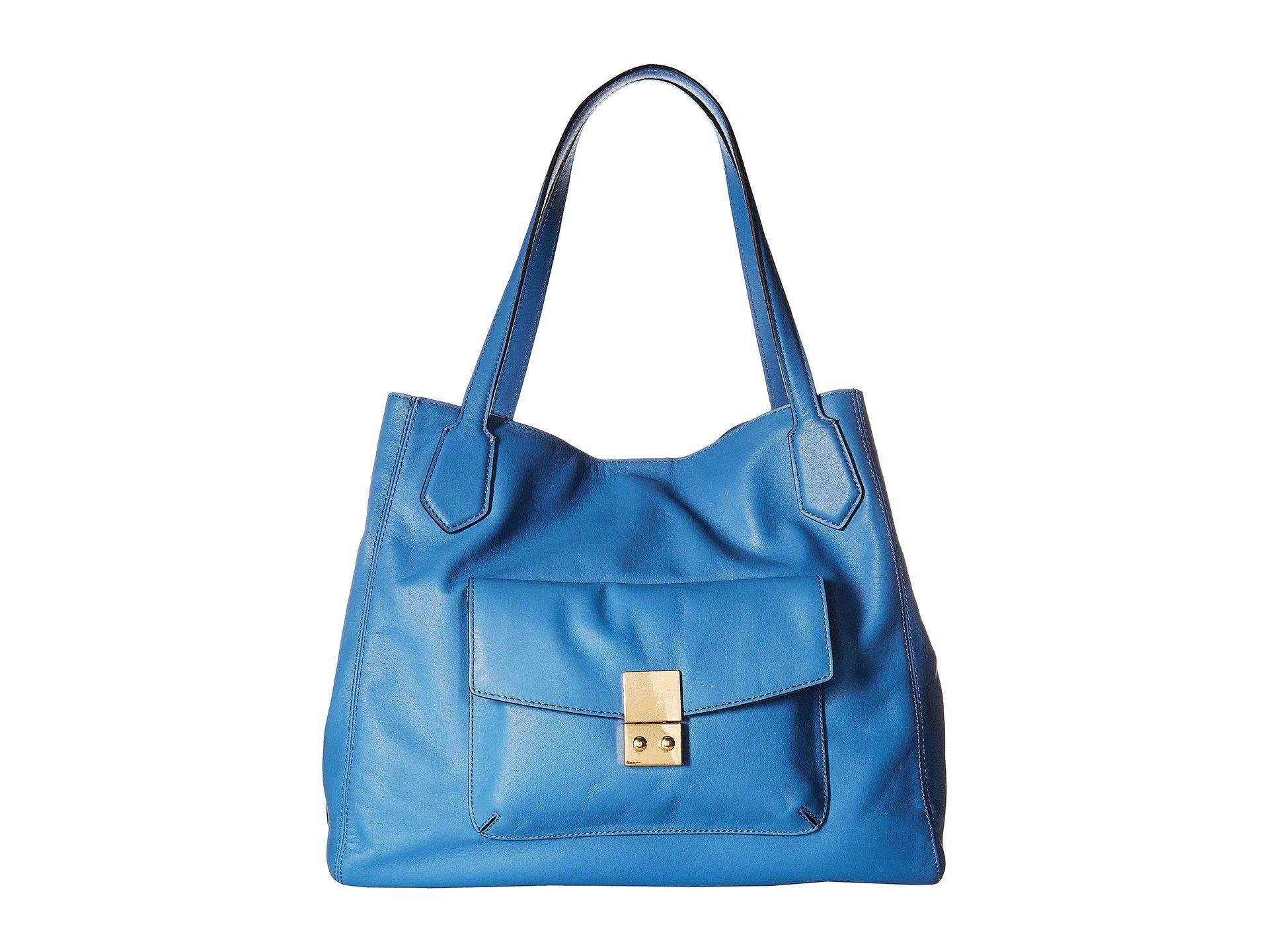 64be7ace1d61 Lyst - Cole Haan Allanna Work Tote in Blue