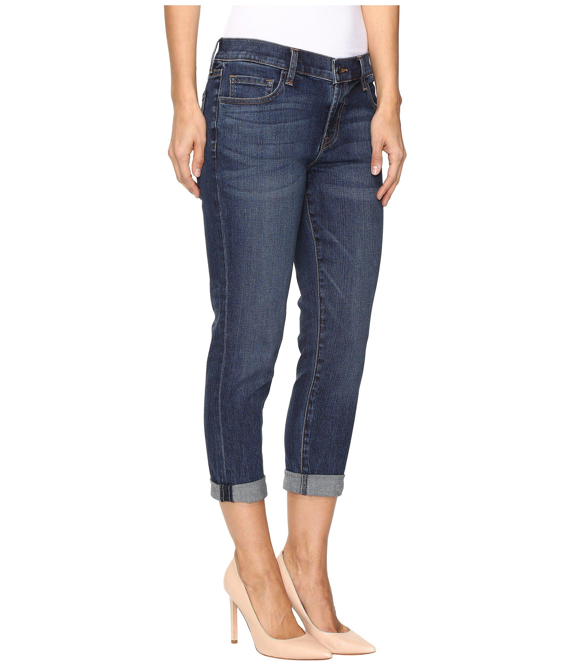 e927036a4f21 Lyst - J Brand Sadey Slim Straight In Mesmeric in Blue