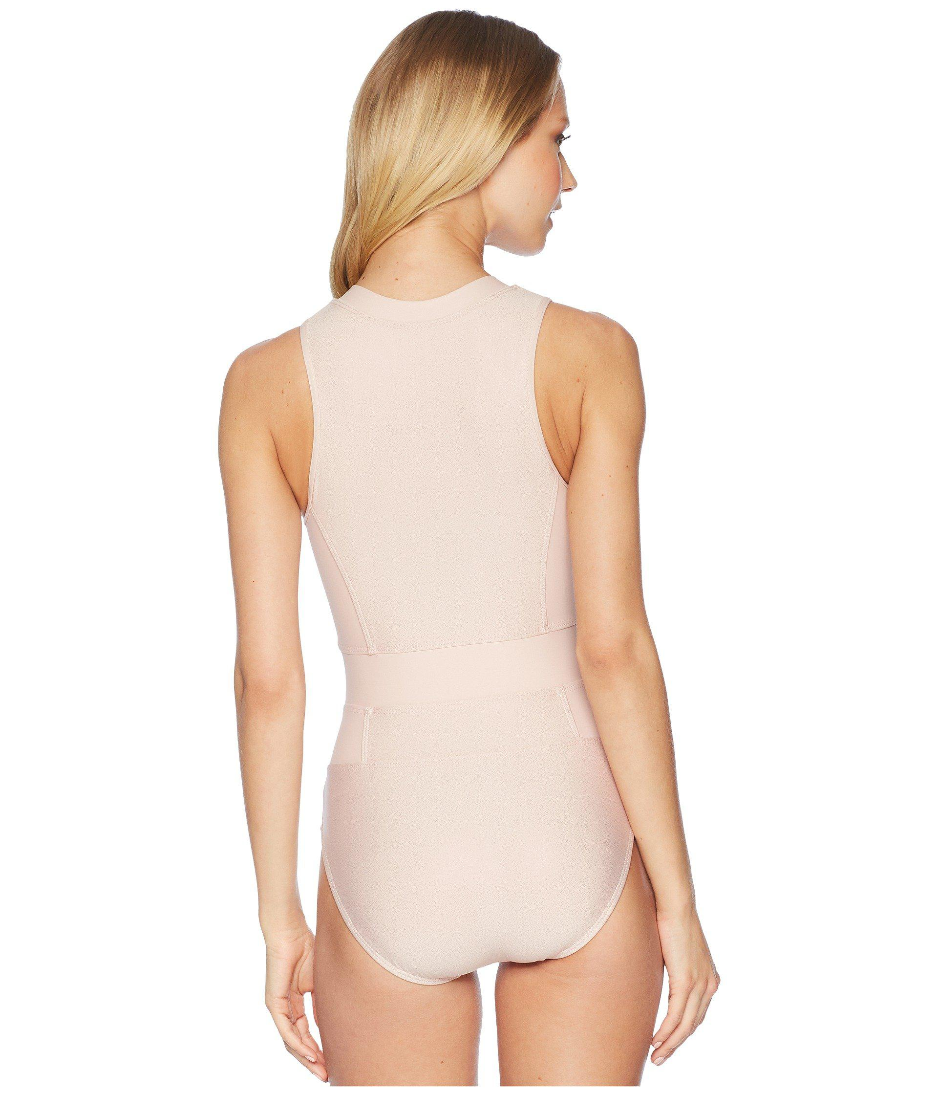 18a3d661f3 Lyst - Next By Athena Feeling Fine Malibu Zip One-piece