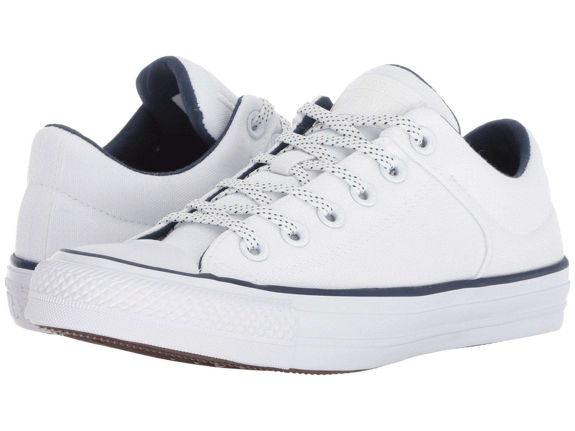 08354effaec Lyst - Converse Chuck Taylor® All Star® High Street Ox in White