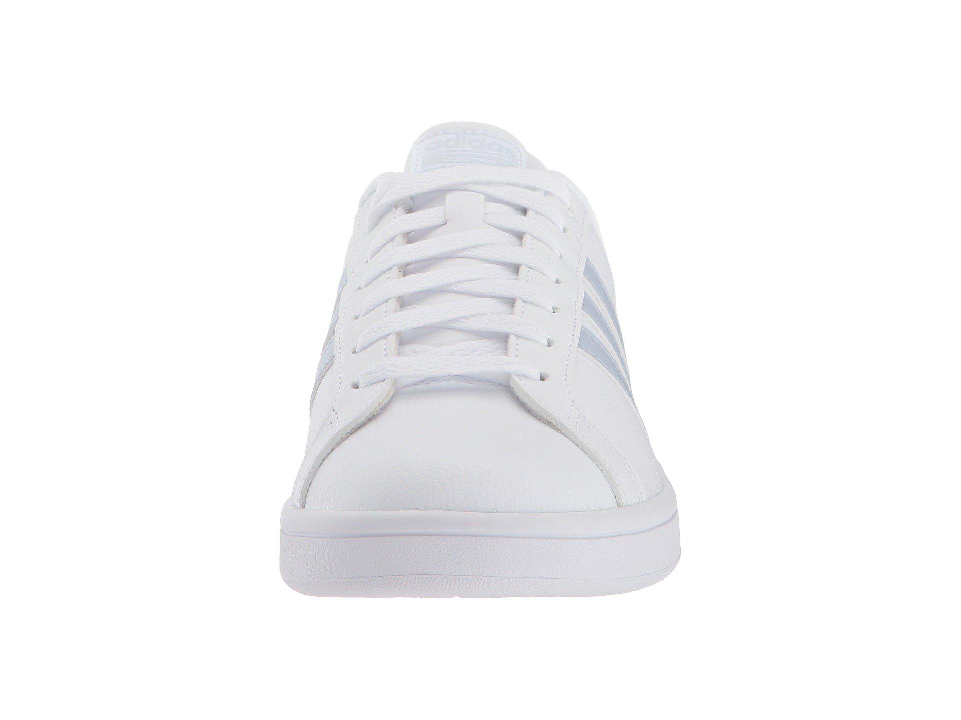 cheap for discount fce70 98f89 Lyst - adidas Cloudfoam Advantage Stripe in White