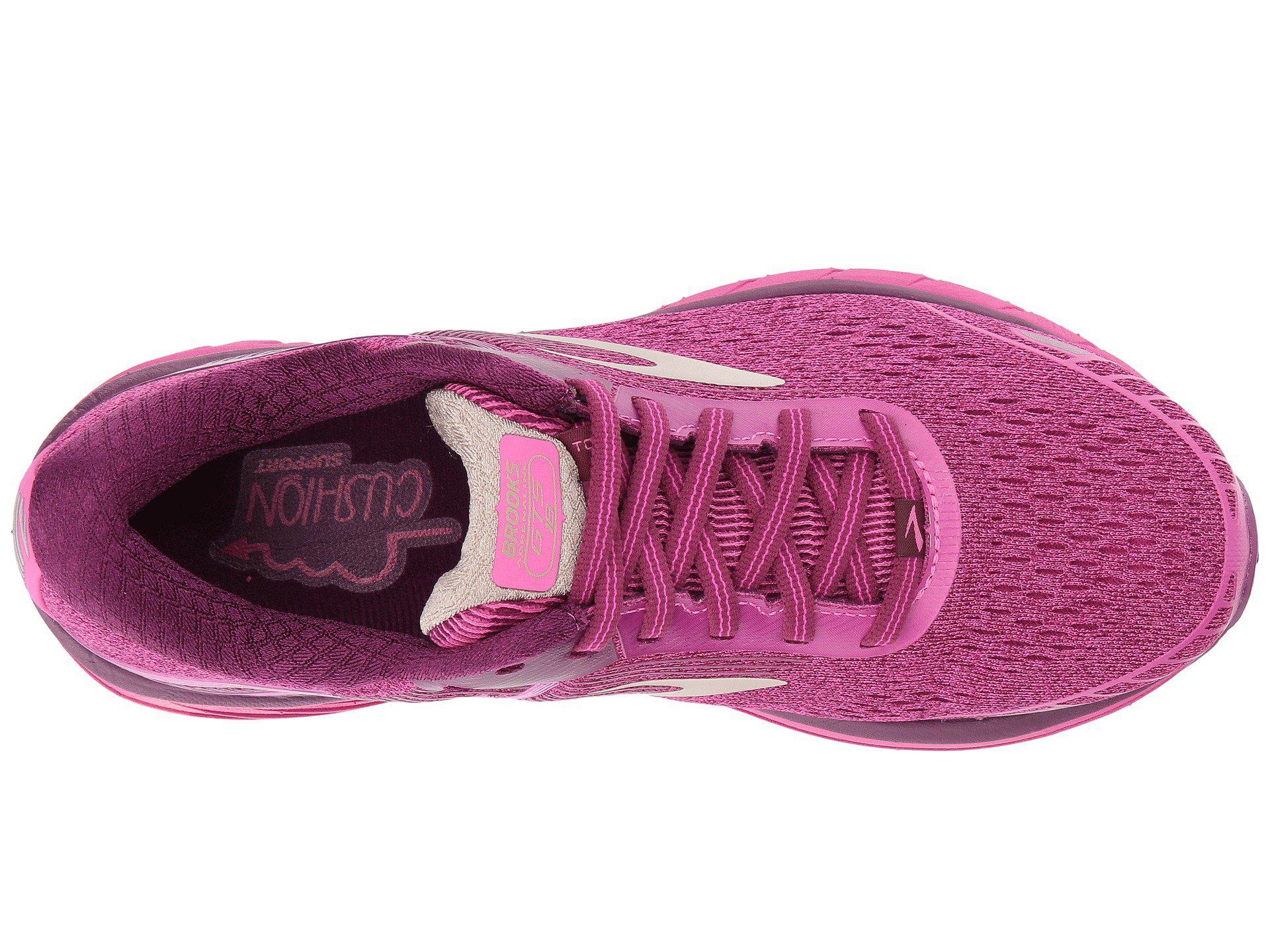 220372bfbb8 Lyst - Brooks Adrenaline Gts 18 in Pink