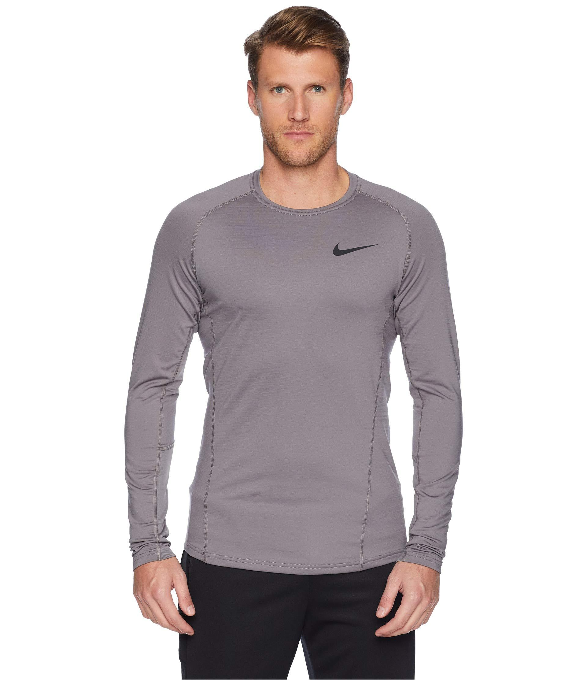 941c5fb2117 Lyst - Nike Pro Thermal Top Long Sleeve in Purple for Men