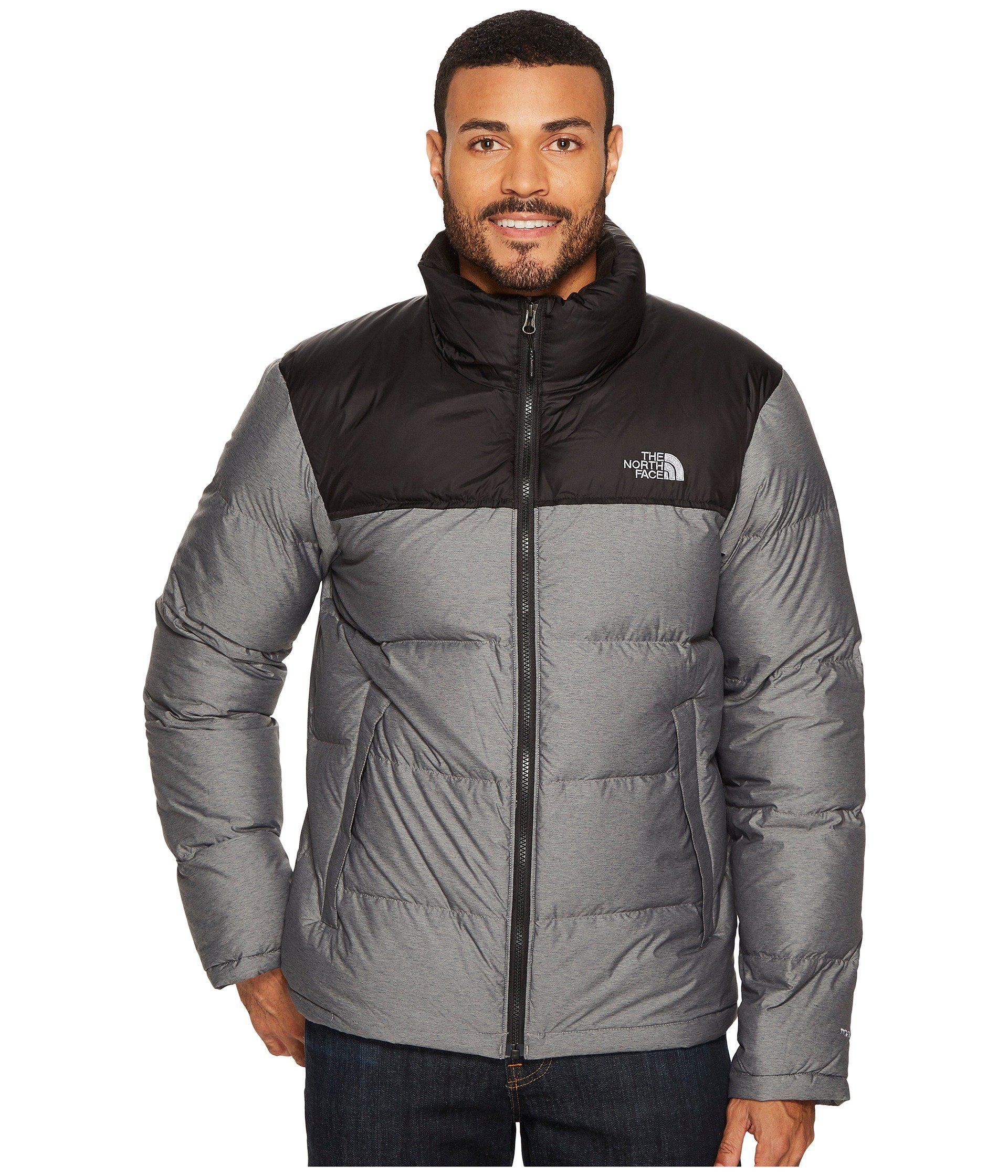 100f7060ee0d Lyst - The North Face Nuptse Jacket in Gray for Men