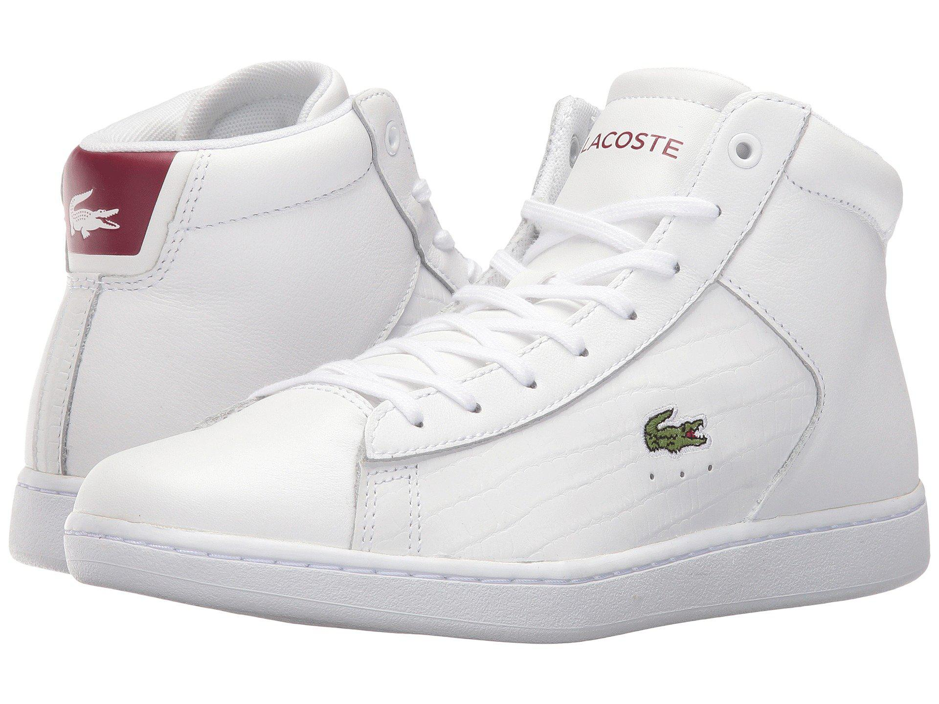 ce24c4d1b9669 Lyst - Lacoste Carnaby Evo Mid G316 2 Spw in White for Men